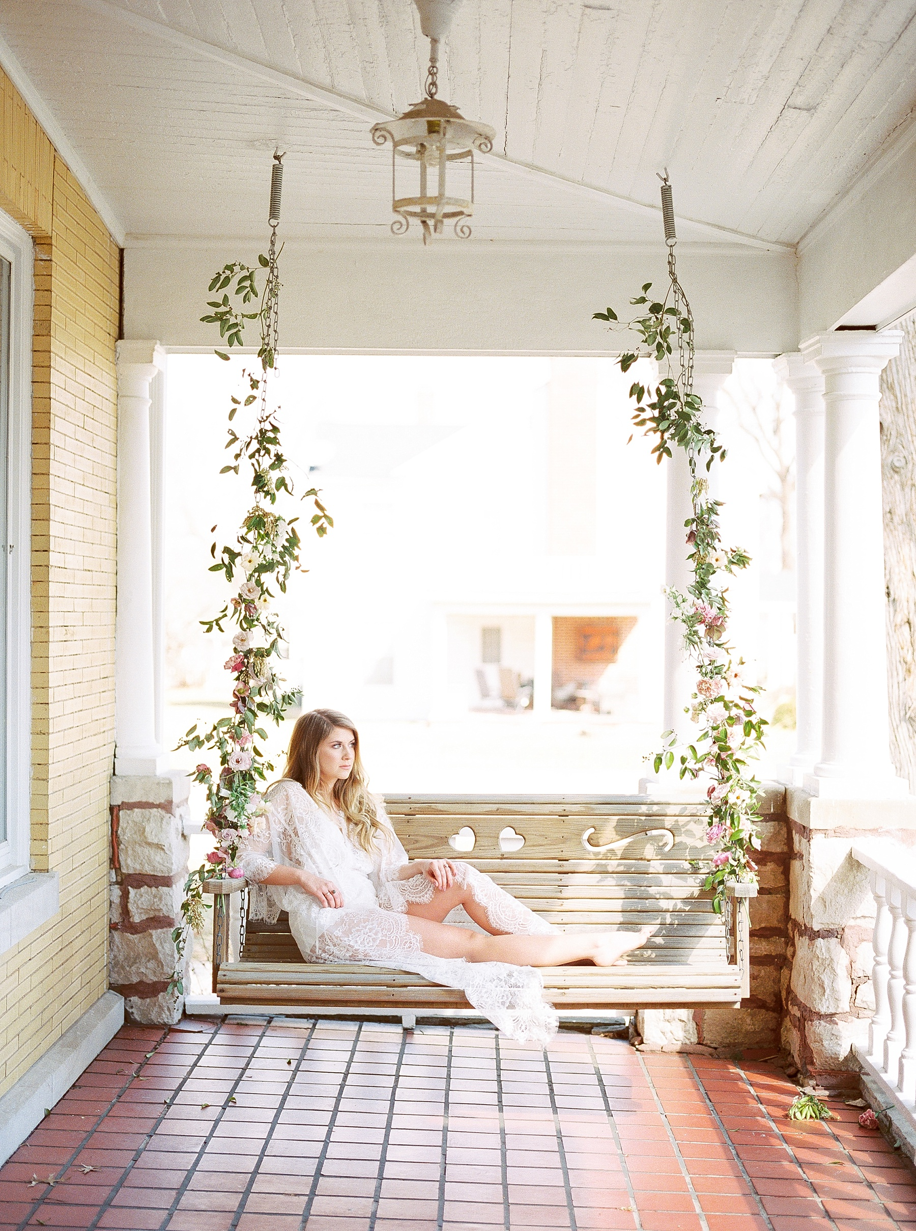 Natural, Intimate, and Organic Bridal Session on Steps of Century Old Bed and Breakfast by Kelsi Kliethermes Photography Best Missouri and Maui Wedding Photographer_0010.jpg