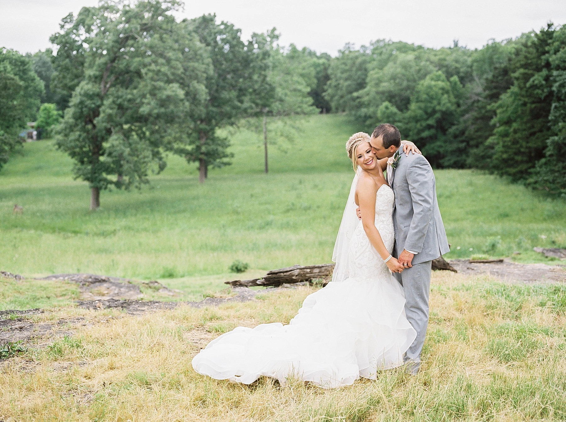 Sky Blue and Quartz Spring Wedding at Open Fields of Family Farm by Kelsi Kliethermes Photography Best Missouri and Maui Wedding Photographer_0025.jpg