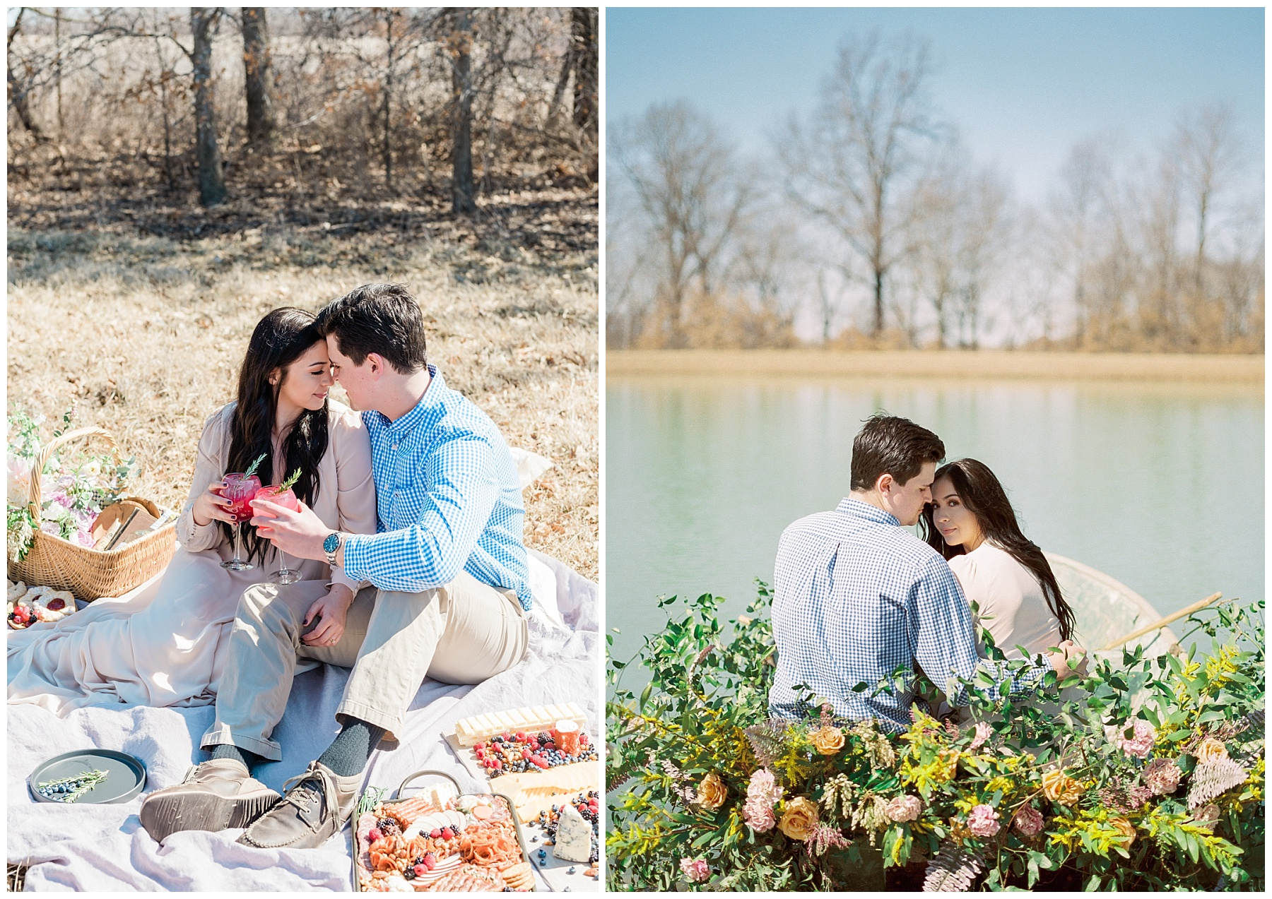 Late Fall Farm-to-table Inspired Brunch Picnic Engagement Session During Wedding Weekend by Kelsi Kliethermes Photography Best Missouri and Maui Wedding Photographer_0018.jpg