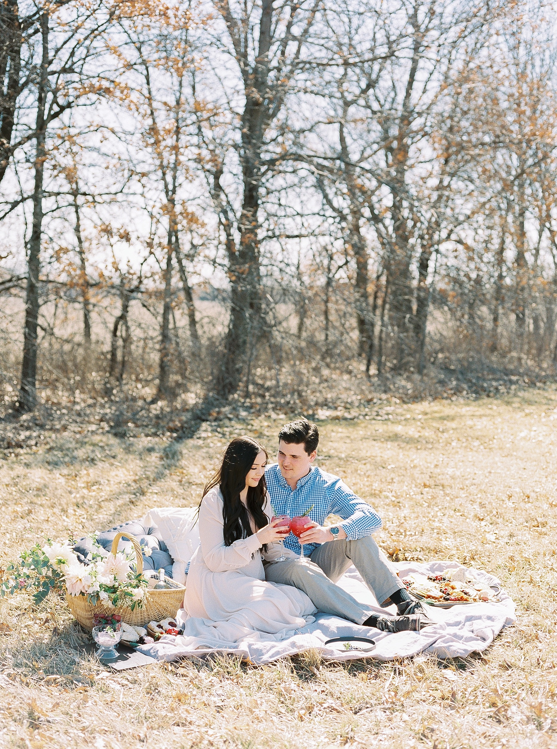 Late Fall Farm-to-table Inspired Brunch Picnic Engagement Session During Wedding Weekend by Kelsi Kliethermes Photography Best Missouri and Maui Wedding Photographer_0021.jpg