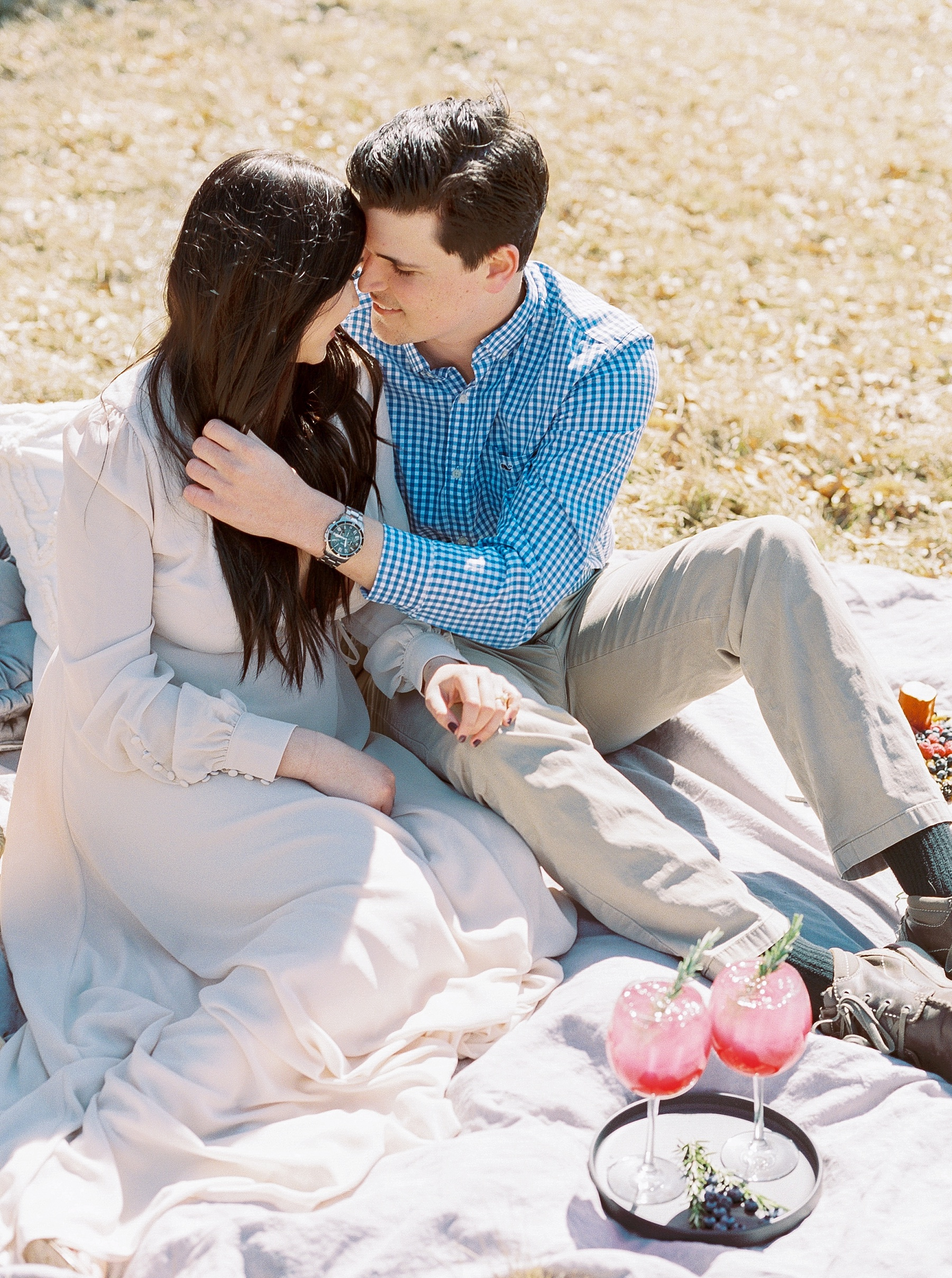 Late Fall Farm-to-table Inspired Brunch Picnic Engagement Session During Wedding Weekend by Kelsi Kliethermes Photography Best Missouri and Maui Wedding Photographer_0024.jpg