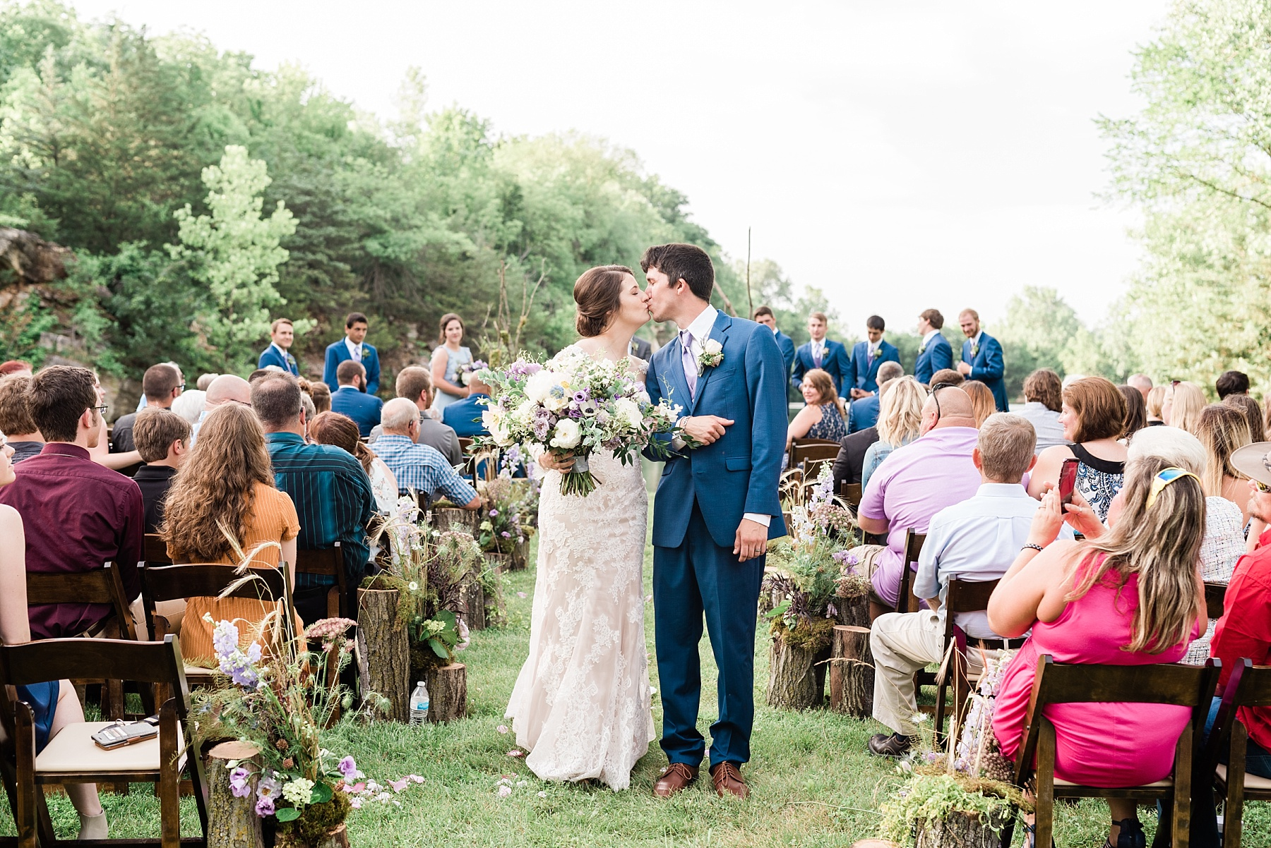 Intimate Mountain Hues Inspired Summer Wedding at Wildcliff Weddings and Events by Kelsi Kliethermes Photography Best Missouri and Maui Wedding Photographer_0010.jpg