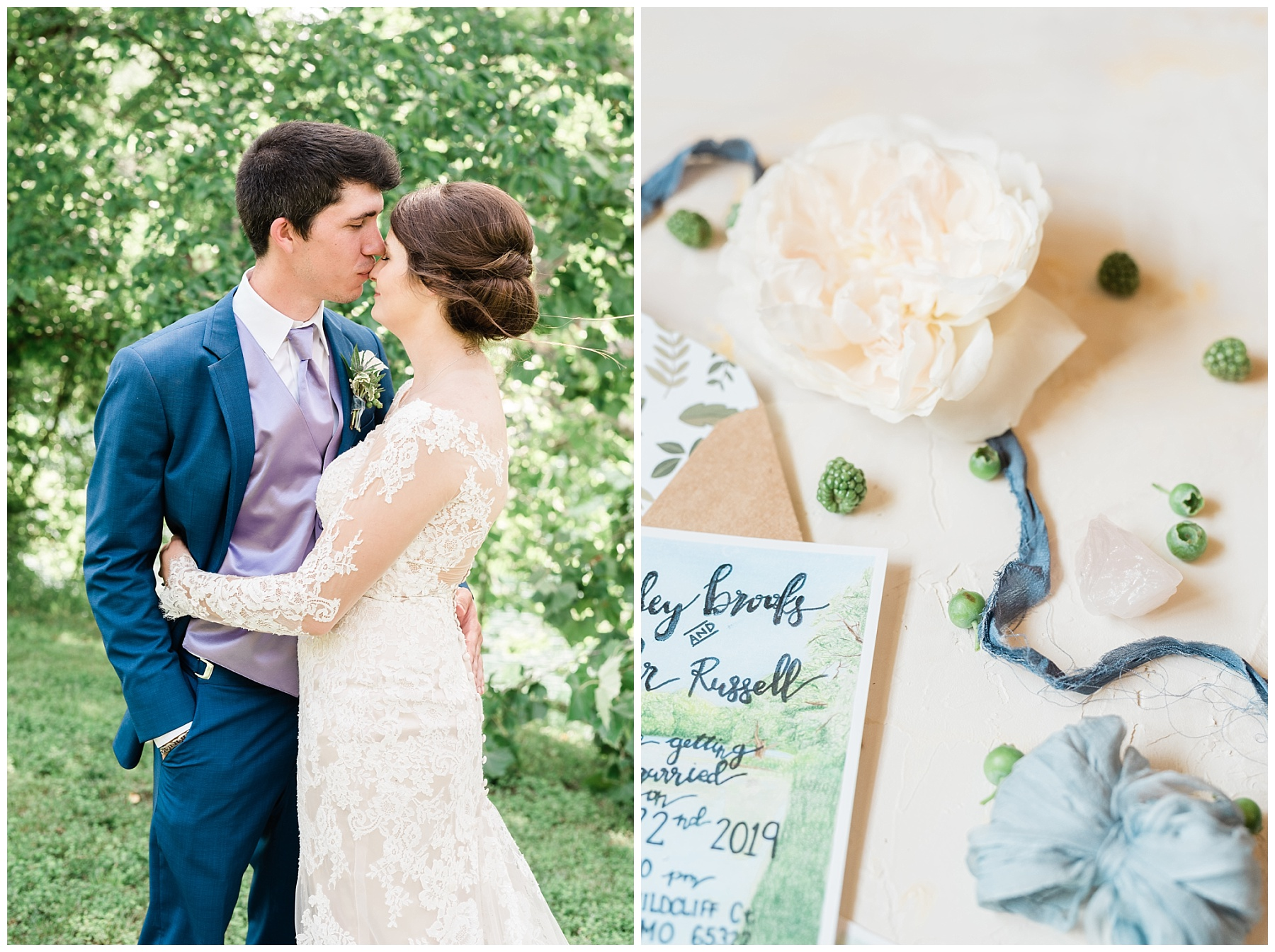 Intimate Mountain Hues Inspired Summer Wedding at Wildcliff Weddings and Events by Kelsi Kliethermes Photography Best Missouri and Maui Wedding Photographer_0068.jpg