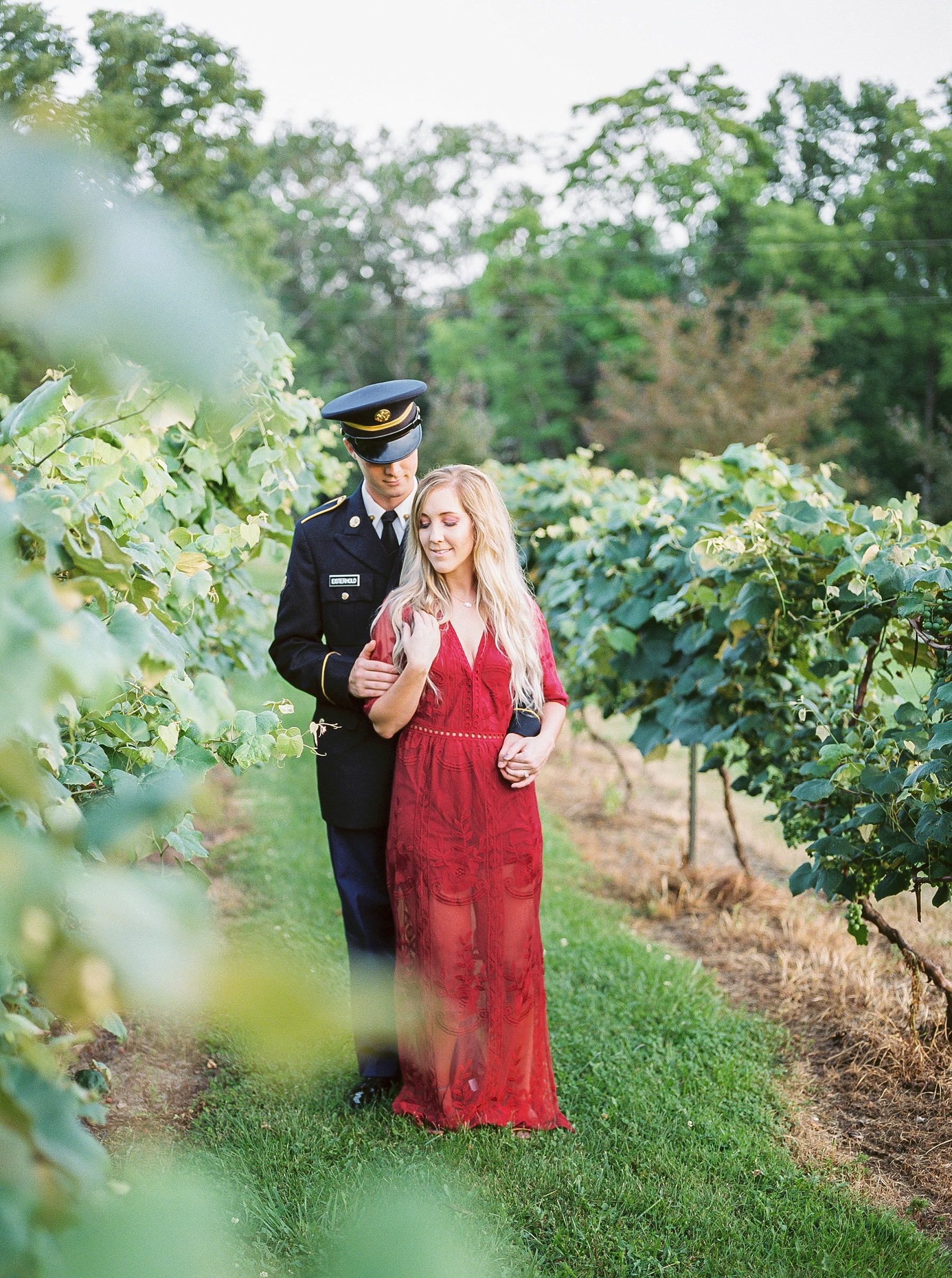 Golden Hour Summer Engagement Session at Lakeside Valley and Vineyards at Kempkers Back 40 by Kelsi Kliethermes Photography Best Missouri and Maui Wedding Photographer_0020.jpg