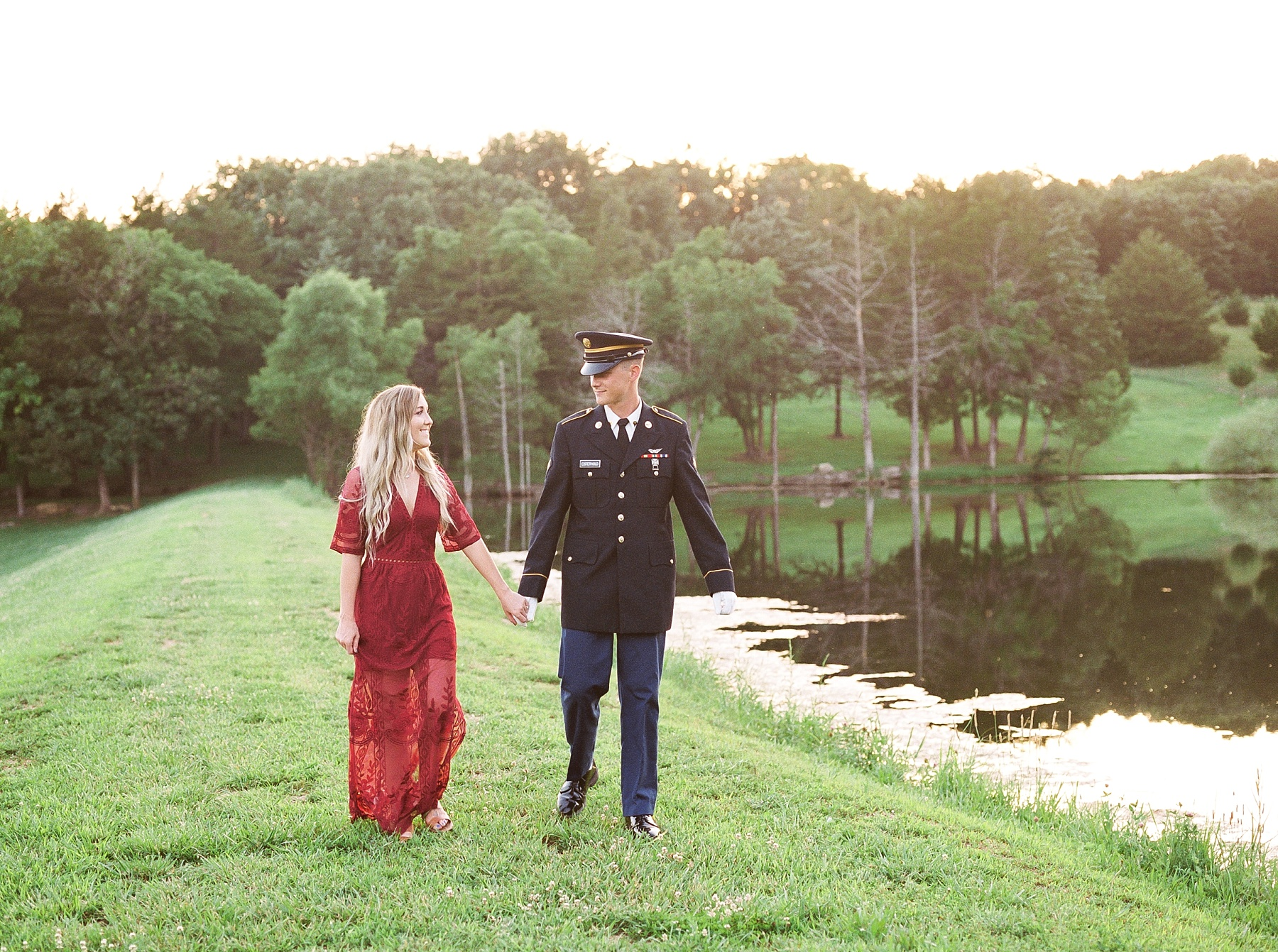 Golden Hour Summer Engagement Session at Lakeside Valley and Vineyards at Kempkers Back 40 by Kelsi Kliethermes Photography Best Missouri and Maui Wedding Photographer_0002.jpg