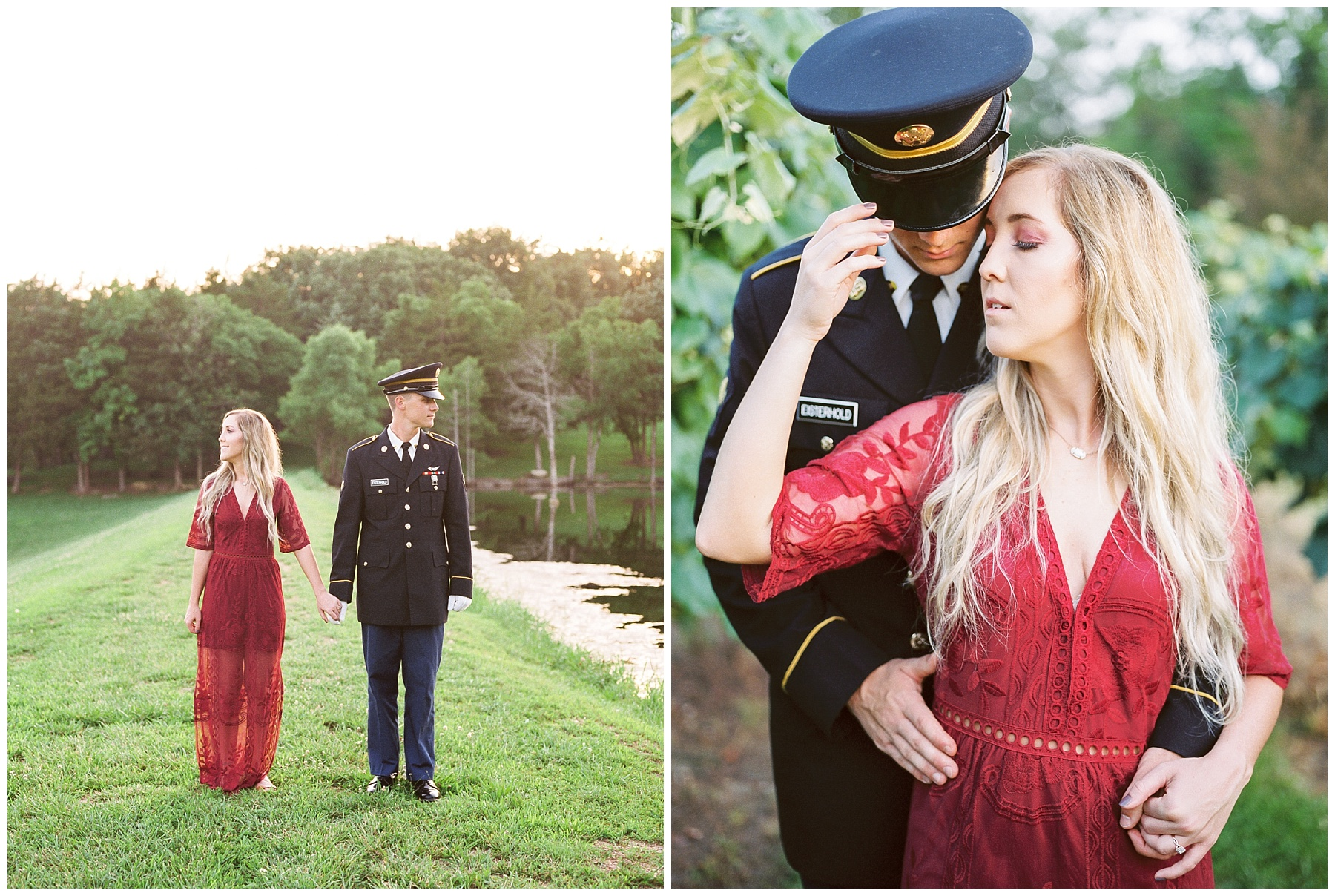 Golden Hour Summer Engagement Session at Lakeside Valley and Vineyards at Kempkers Back 40 by Kelsi Kliethermes Photography Best Missouri and Maui Wedding Photographer_0009.jpg