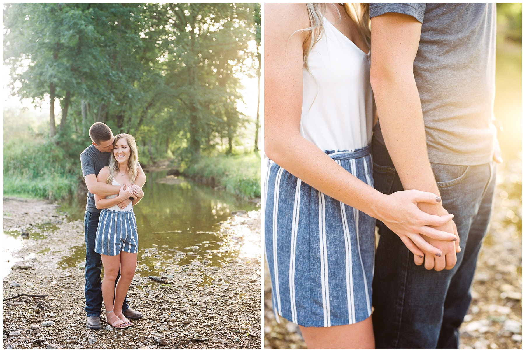 Golden Hour Summer Engagement Session at Lakeside Valley and Vineyards at Kempkers Back 40 by Kelsi Kliethermes Photography Best Missouri and Maui Wedding Photographer_0010.jpg