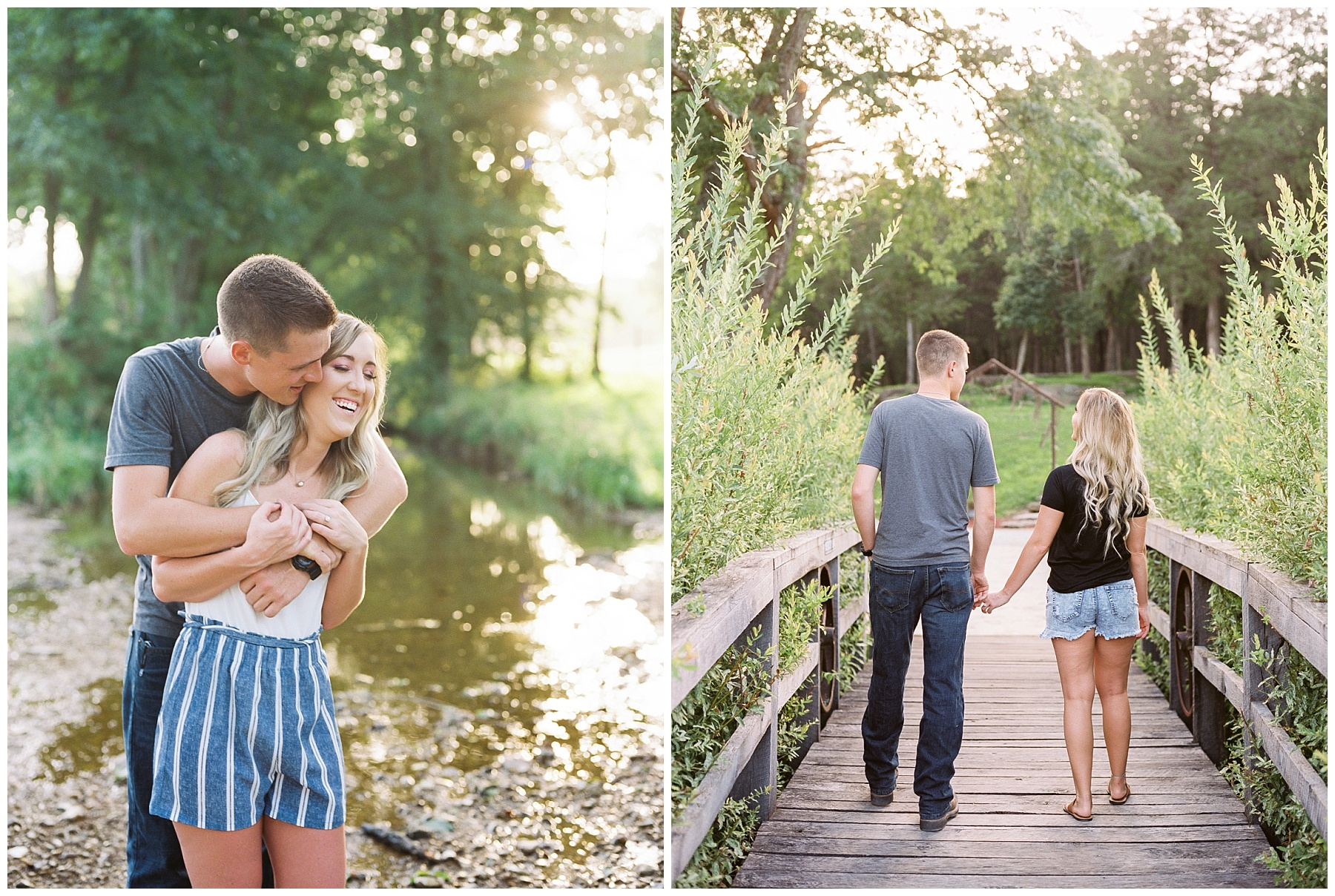 Golden Hour Summer Engagement Session at Lakeside Valley and Vineyards at Kempkers Back 40 by Kelsi Kliethermes Photography Best Missouri and Maui Wedding Photographer_0012.jpg