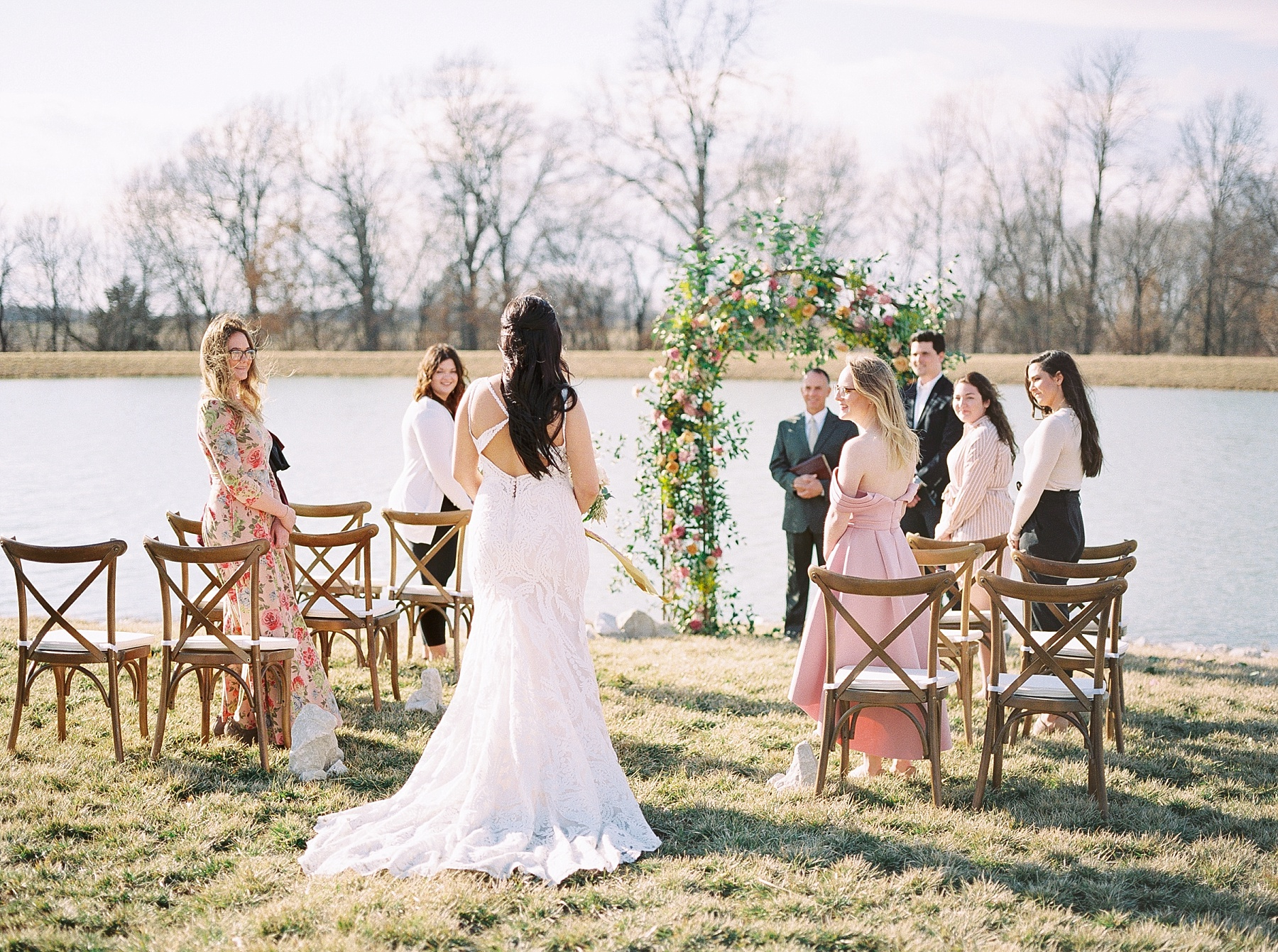 Lakeside Sunset Wedding with Magnificent Abundance of Blooms at Emerson Fields by Kelsi Kliethermes Photography Best Missouri and Maui Wedding Photographer_0008.jpg