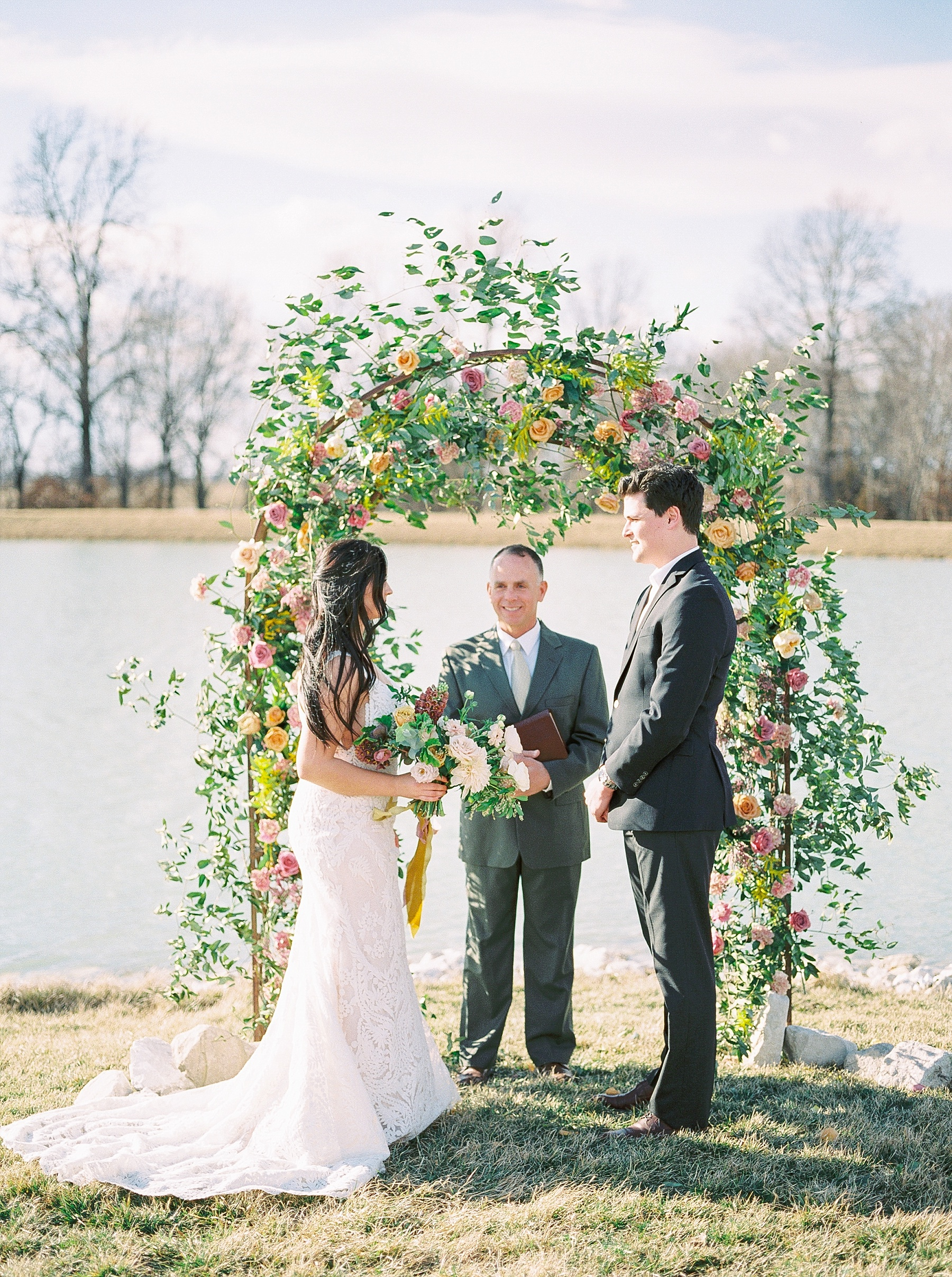 Lakeside Sunset Wedding with Magnificent Abundance of Blooms at Emerson Fields by Kelsi Kliethermes Photography Best Missouri and Maui Wedding Photographer_0039.jpg