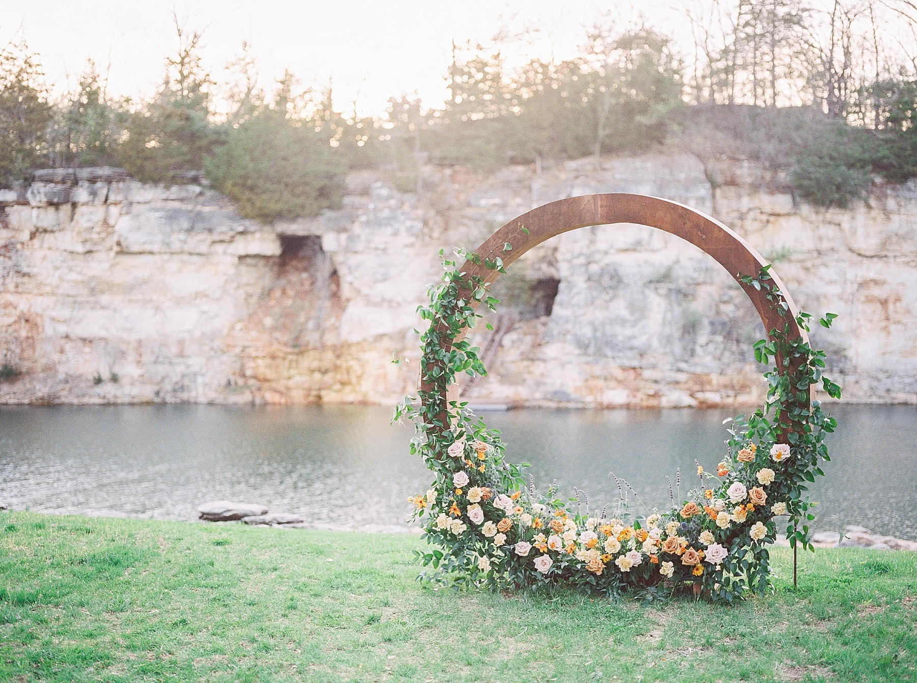 Intimate Spanish and French Inspired Destination Wedding with Lakeside Dinner Party at Dusk at Wildcliff by Kelsi Kliethermes Photography Best Missouri and Maui Wedding Photographer_0011.jpg