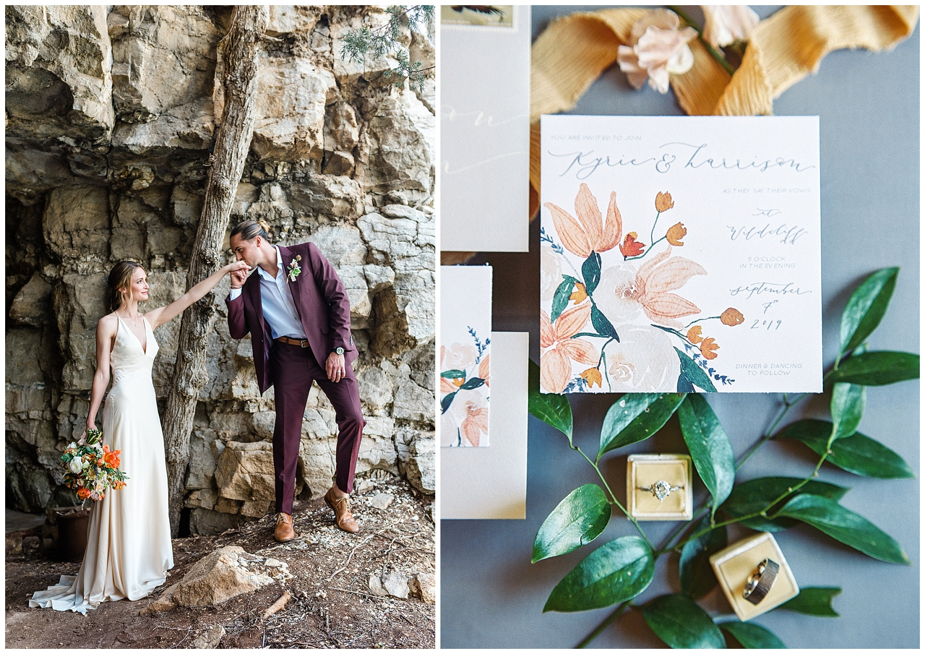 Intimate Spanish and French Inspired Destination Wedding with Lakeside Dinner Party at Dusk at Wildcliff by Kelsi Kliethermes Photography Best Missouri and Maui Wedding Photographer_0025.jpg