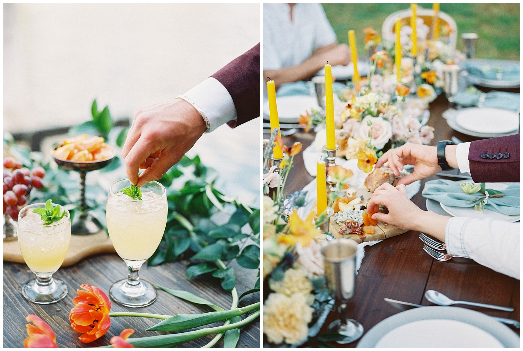 Intimate Spanish and French Inspired Destination Wedding with Lakeside Dinner Party at Dusk at Wildcliff by Kelsi Kliethermes Photography Best Missouri and Maui Wedding Photographer_0028.jpg