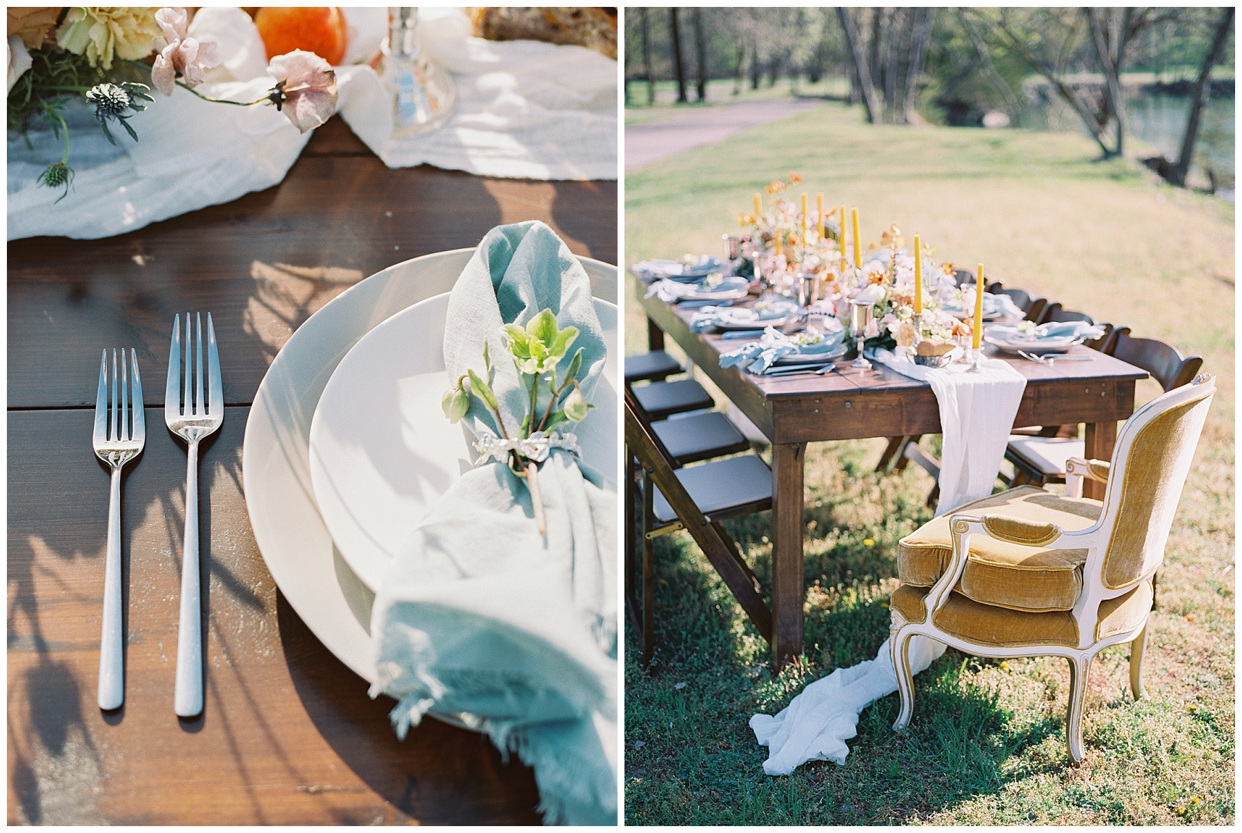 Intimate Spanish and French Inspired Destination Wedding with Lakeside Dinner Party at Dusk at Wildcliff by Kelsi Kliethermes Photography Best Missouri and Maui Wedding Photographer_0029.jpg