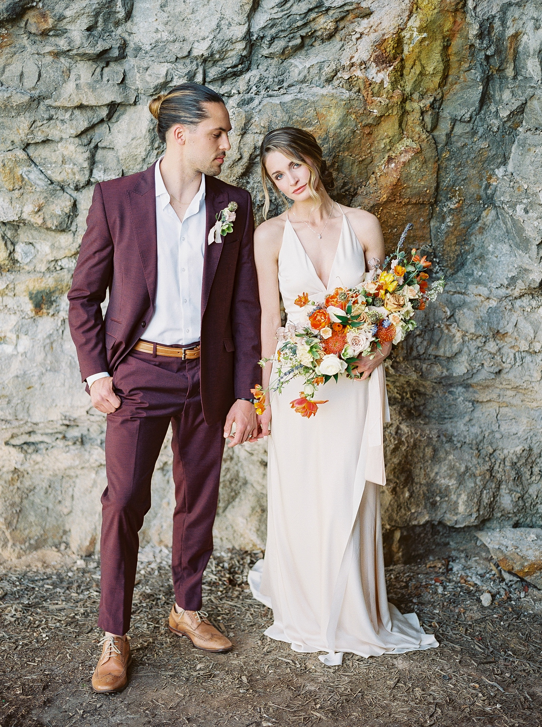 Intimate Spanish and French Inspired Destination Wedding with Lakeside Dinner Party at Dusk at Wildcliff by Kelsi Kliethermes Photography Best Missouri and Maui Wedding Photographer_0056.jpg