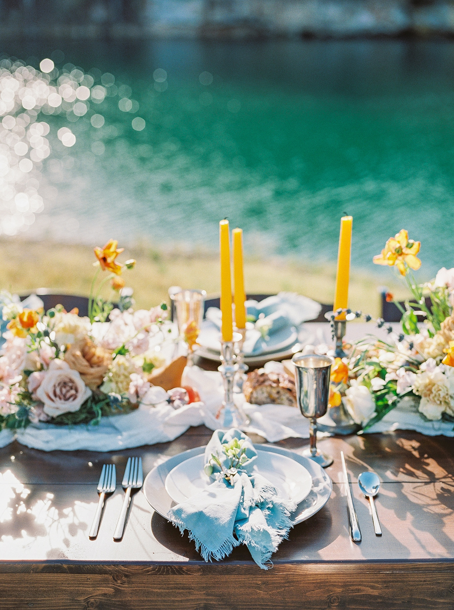 Intimate Spanish and French Inspired Destination Wedding with Lakeside Dinner Party at Dusk at Wildcliff by Kelsi Kliethermes Photography Best Missouri and Maui Wedding Photographer_0067.jpg