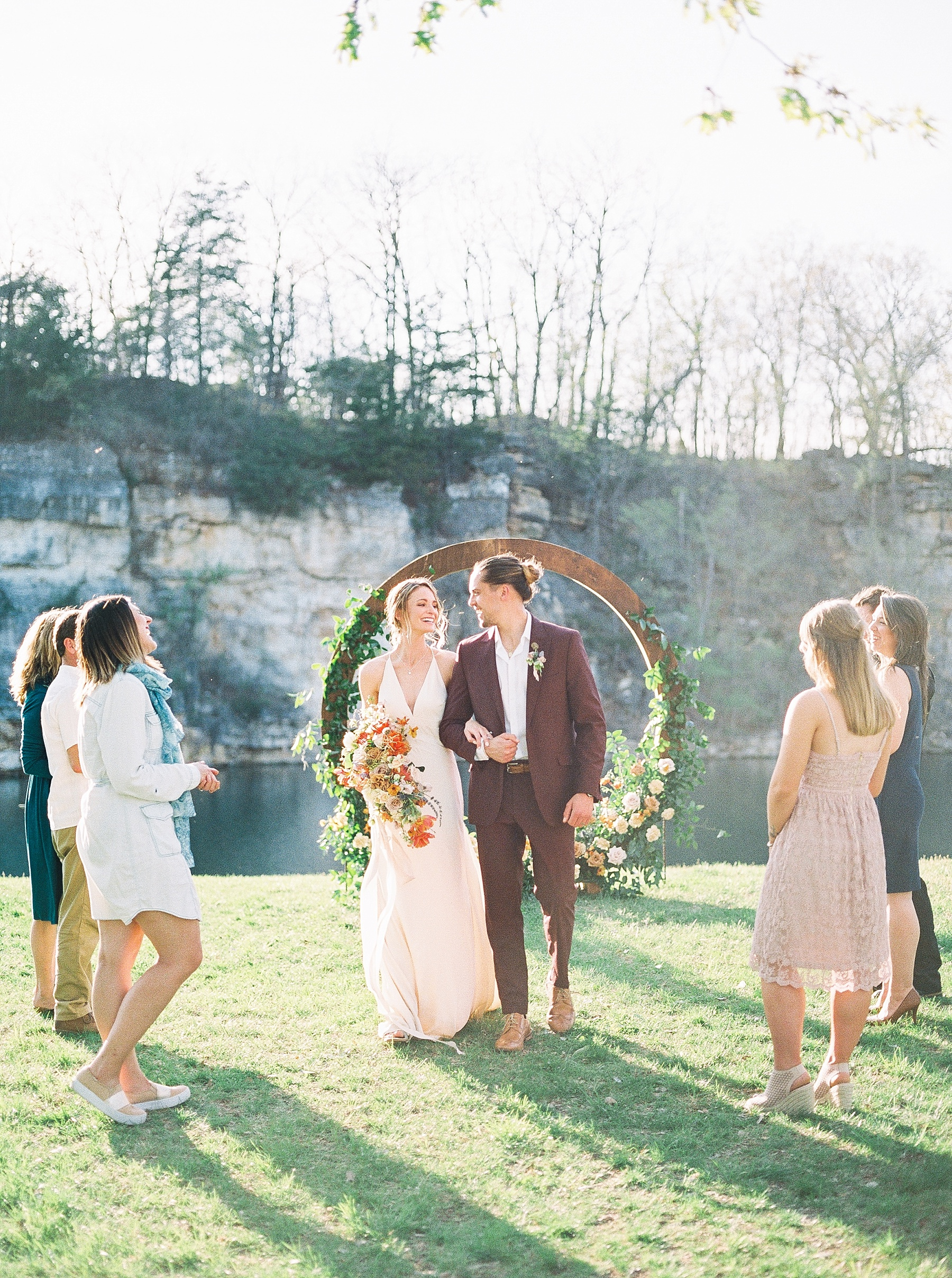 Intimate Spanish and French Inspired Destination Wedding with Lakeside Dinner Party at Dusk at Wildcliff by Kelsi Kliethermes Photography Best Missouri and Maui Wedding Photographer_0080.jpg