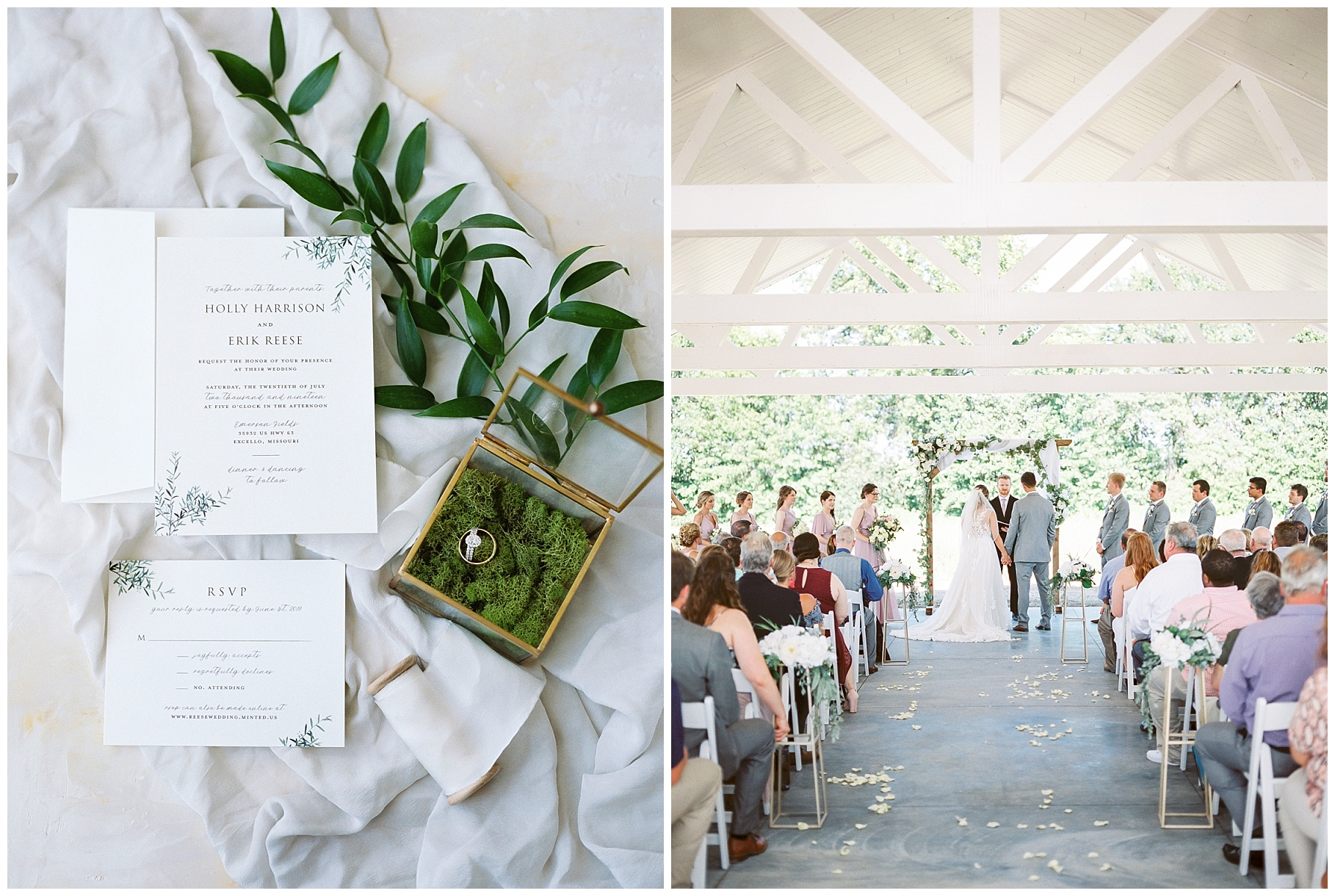 Classic Quartz, White, and Deep Green Wedding at Emerson Fields by Kelsi Kliethermes Photography Best Columbia Missouri and Maui Hawaii Wedding Photographer_0067.jpg