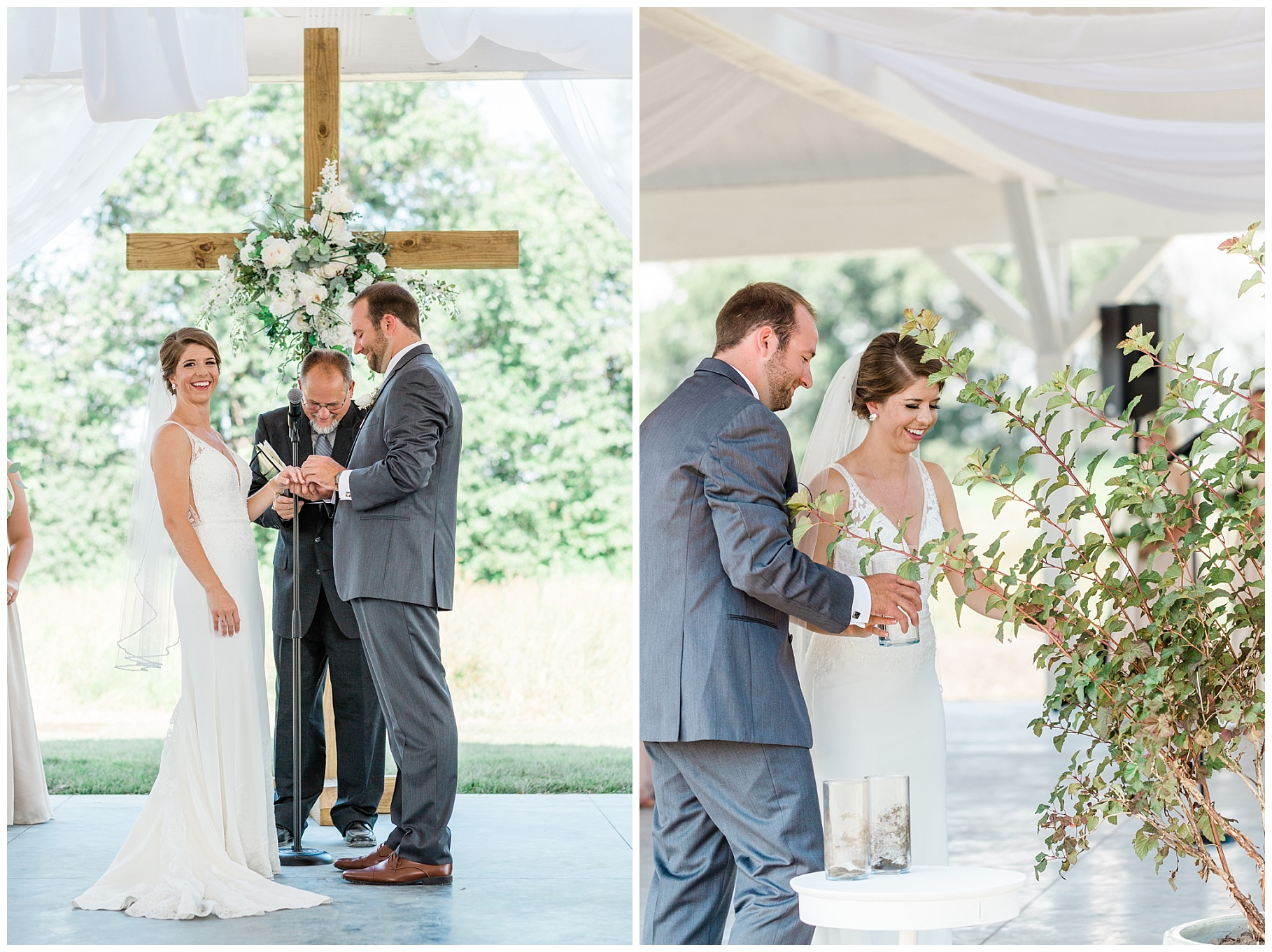 Wedding Ceremony with Confetti Pop at Emerson Fields Venue by Associate Wedding Photographer for Kelsi Kliethermes Photography Best Columbia Missouri and Maui Hawaii Wedding Photographer_0052.jpg