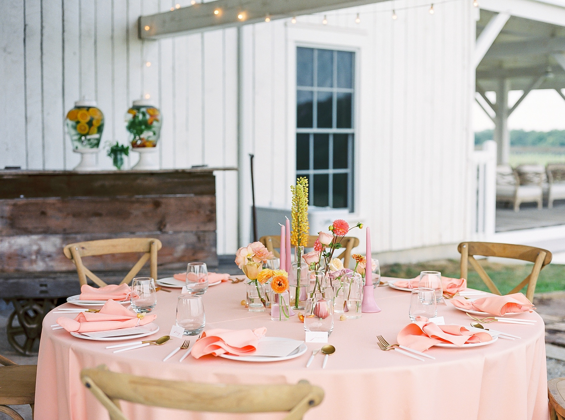 Late Summer Wedding With Pastel Toned Soiree at Blue Bell Farm by Kelsi Kliethermes Photography Best Columbia Missouri Wedding Photographer_0007.jpg