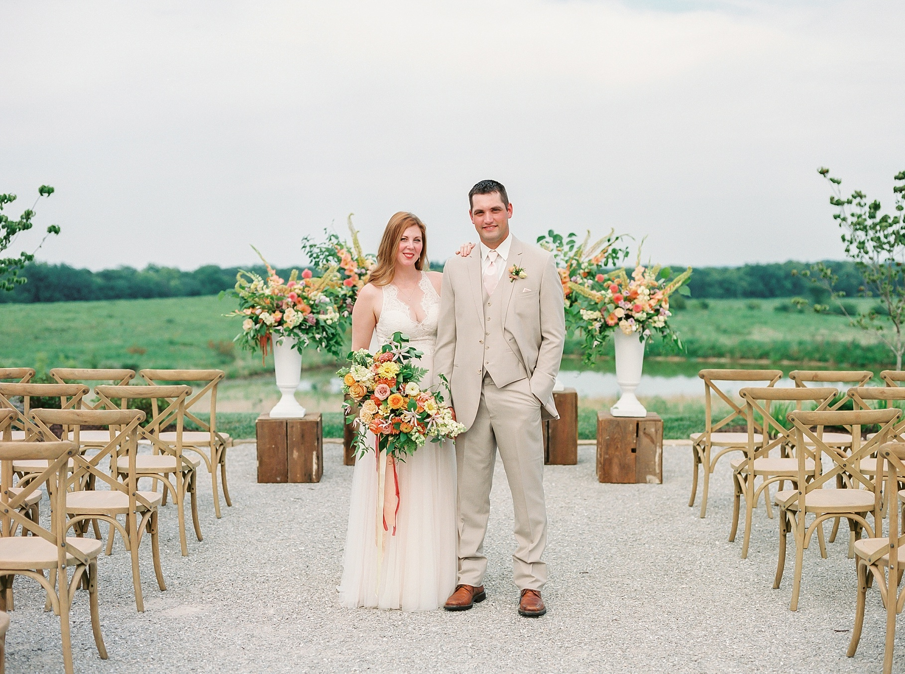 Late Summer Wedding With Pastel Toned Soiree at Blue Bell Farm by Kelsi Kliethermes Photography Best Columbia Missouri Wedding Photographer_0023.jpg