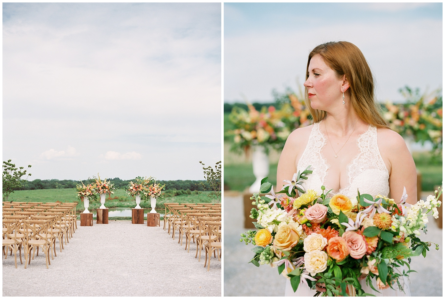 Late Summer Wedding With Pastel Toned Soiree at Blue Bell Farm by Kelsi Kliethermes Photography Best Columbia Missouri Wedding Photographer_0045.jpg