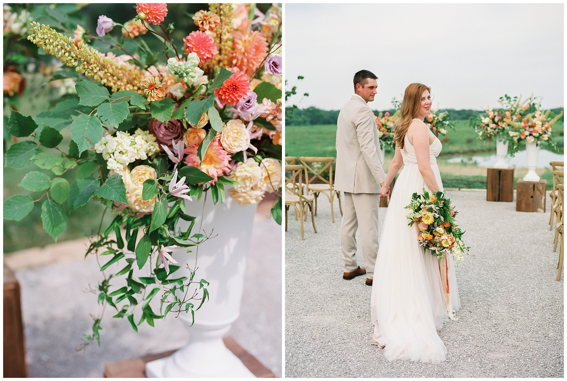 Late Summer Wedding With Pastel Toned Soiree at Blue Bell Farm by Kelsi Kliethermes Photography Best Columbia Missouri Wedding Photographer_0065.jpg