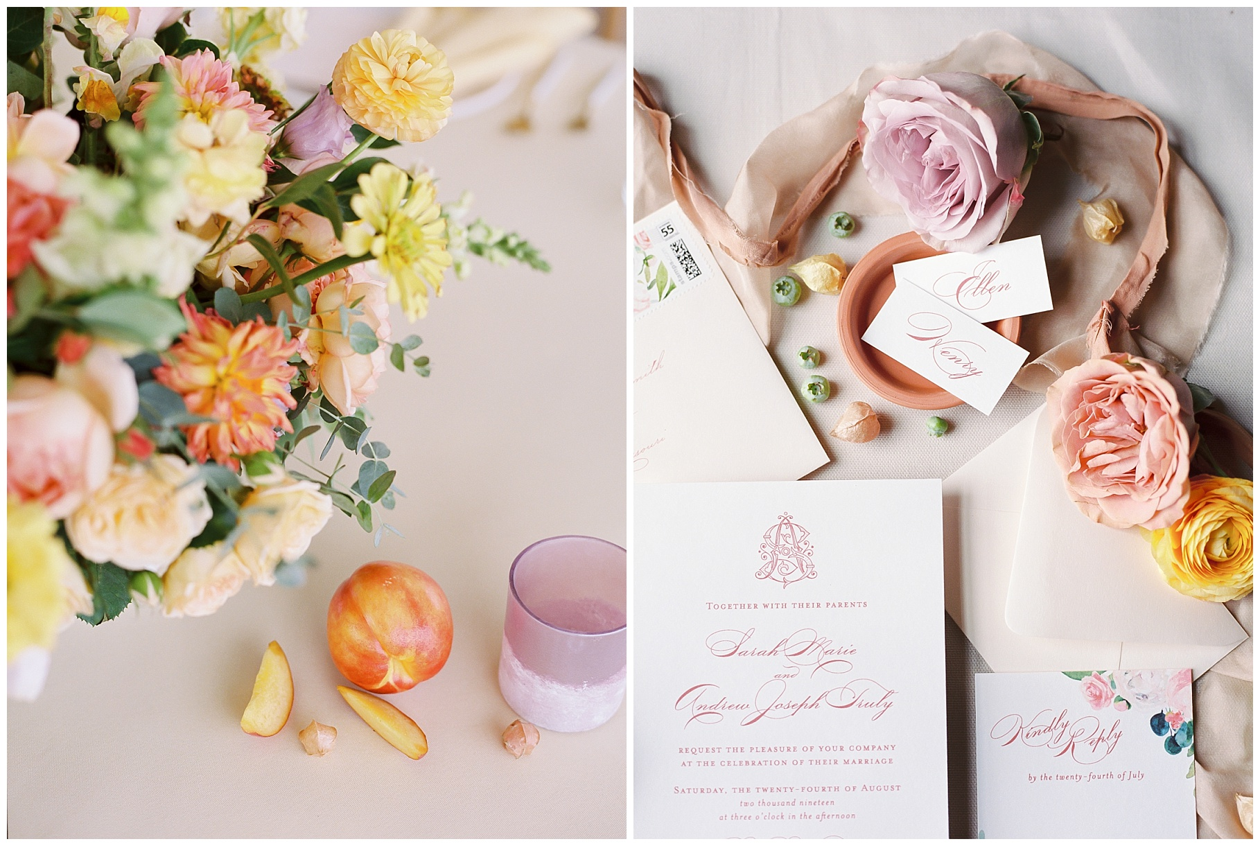 Late Summer Wedding With Pastel Toned Soiree at Blue Bell Farm by Kelsi Kliethermes Photography Best Columbia Missouri Wedding Photographer_0076.jpg