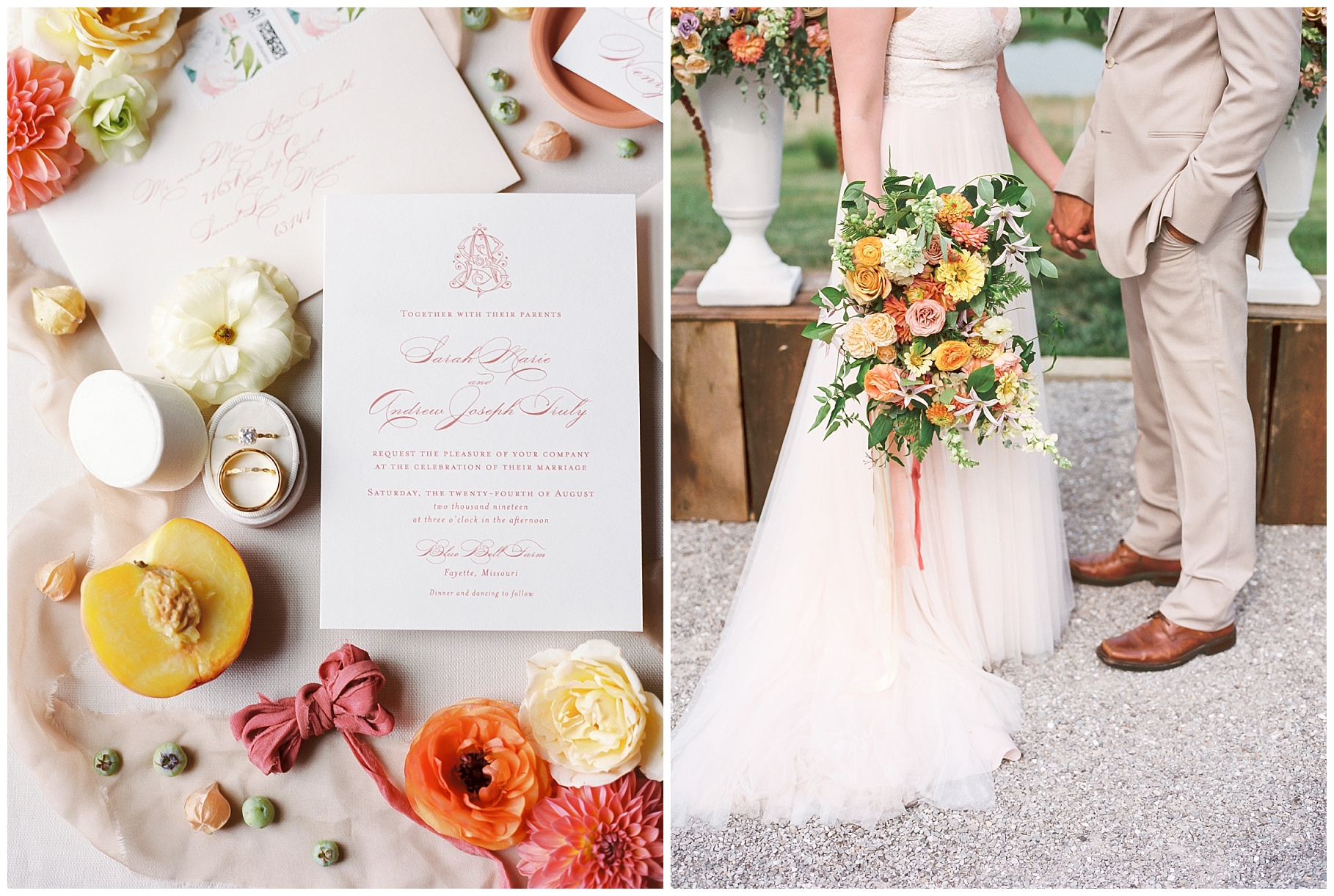 Late Summer Wedding With Pastel Toned Soiree at Blue Bell Farm by Kelsi Kliethermes Photography Best Columbia Missouri Wedding Photographer_0086.jpg