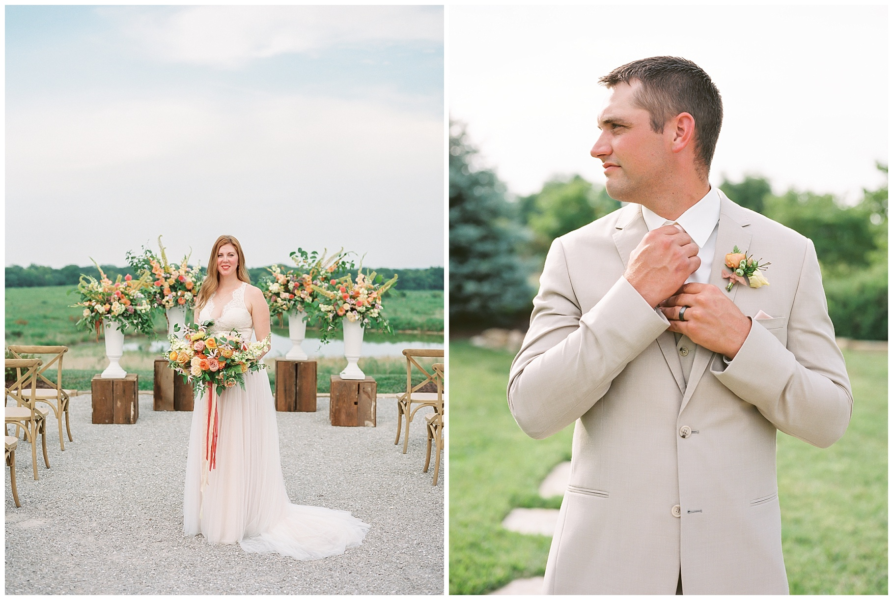 Late Summer Wedding With Pastel Toned Soiree at Blue Bell Farm by Kelsi Kliethermes Photography Best Columbia Missouri Wedding Photographer_0089.jpg