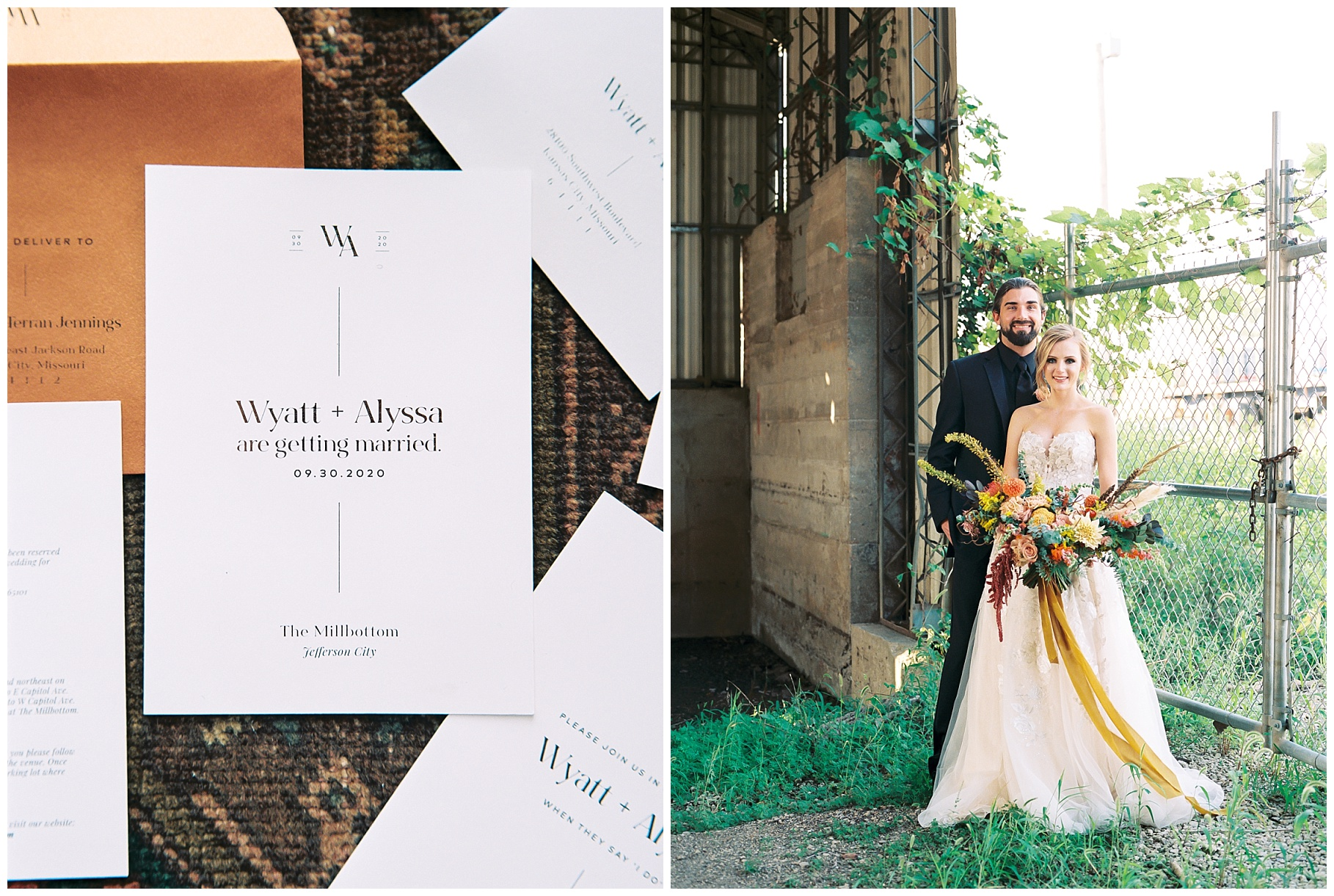 Urban Romance Wedding with Copper Accents at The Millbottom by Kelsi Kliethermes Photography Best Columbia Missouri Wedding Photographer_0023.jpg
