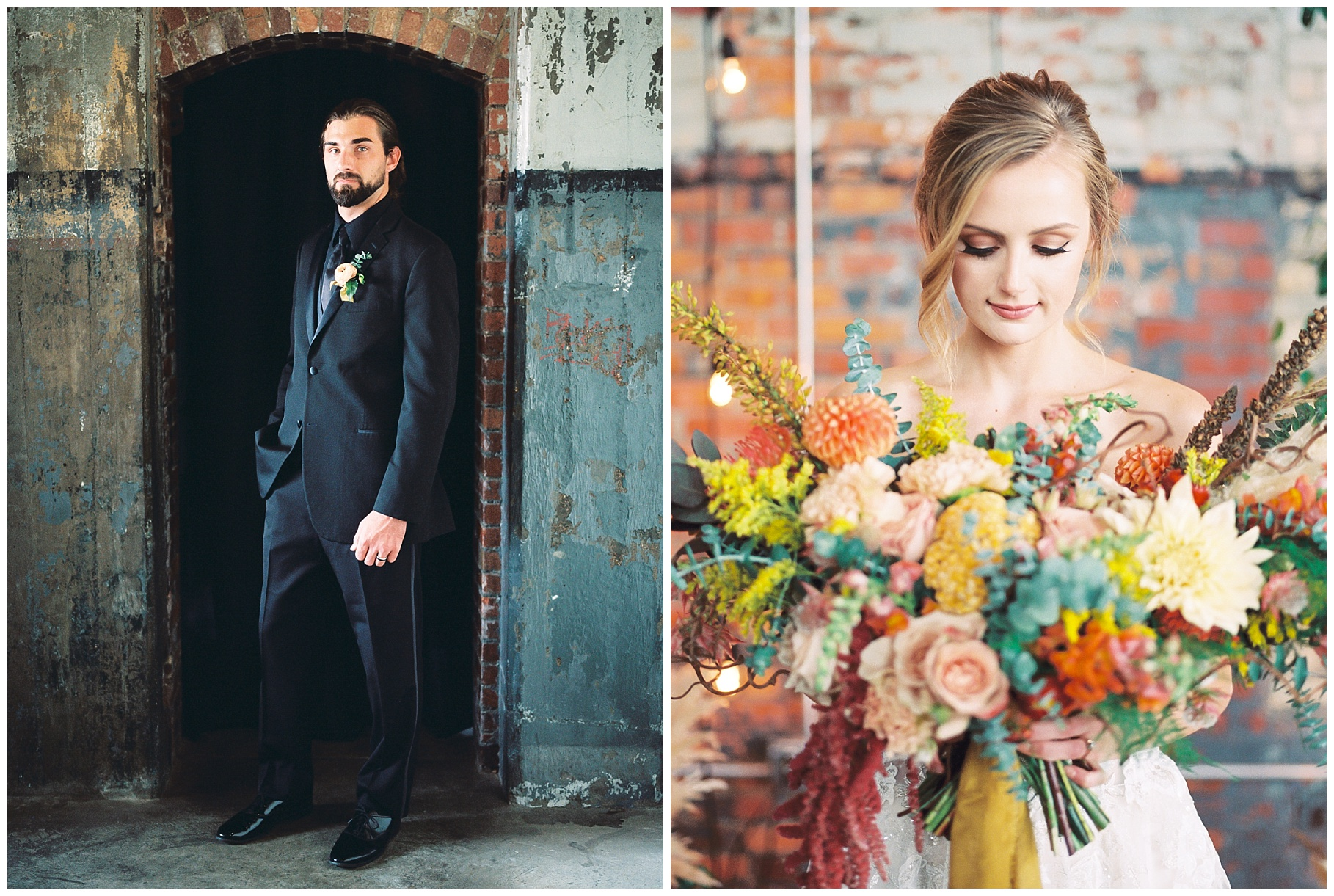 Urban Romance Wedding with Copper Accents at The Millbottom by Kelsi Kliethermes Photography Best Columbia Missouri Wedding Photographer_0024.jpg