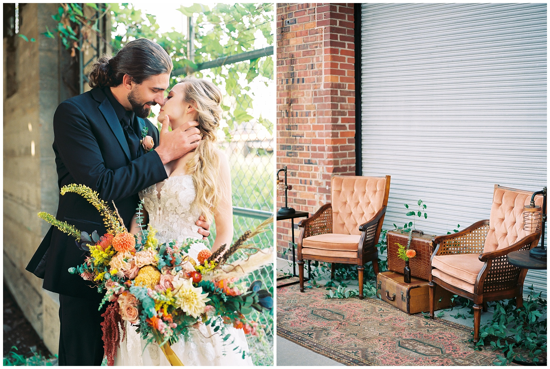 Urban Romance Wedding with Copper Accents at The Millbottom by Kelsi Kliethermes Photography Best Columbia Missouri Wedding Photographer_0029.jpg