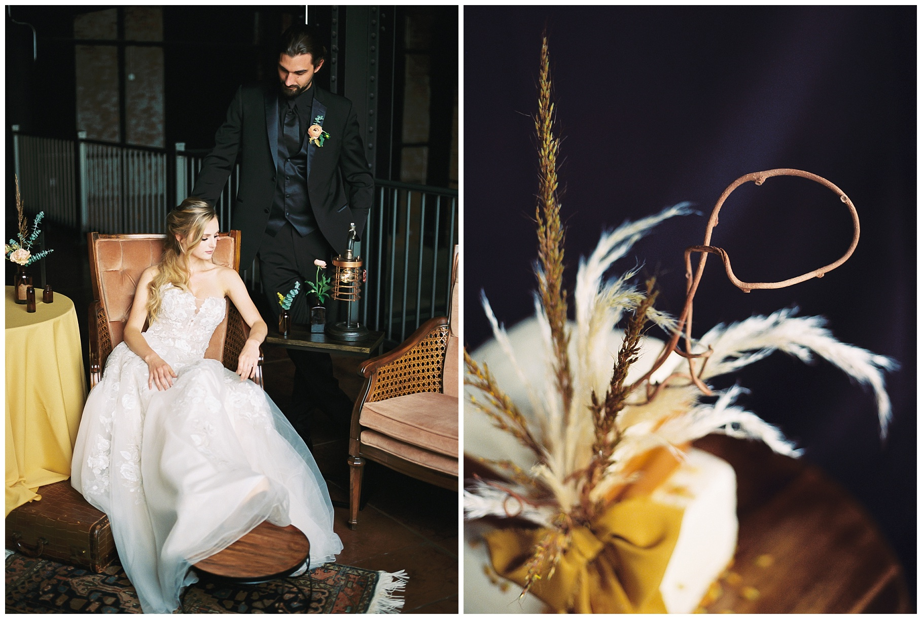 Urban Romance Wedding with Copper Accents at The Millbottom by Kelsi Kliethermes Photography Best Columbia Missouri Wedding Photographer_0031.jpg