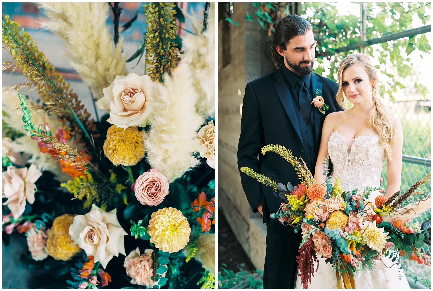 Urban Romance Wedding with Copper Accents at The Millbottom by Kelsi Kliethermes Photography Best Columbia Missouri Wedding Photographer_0036.jpg