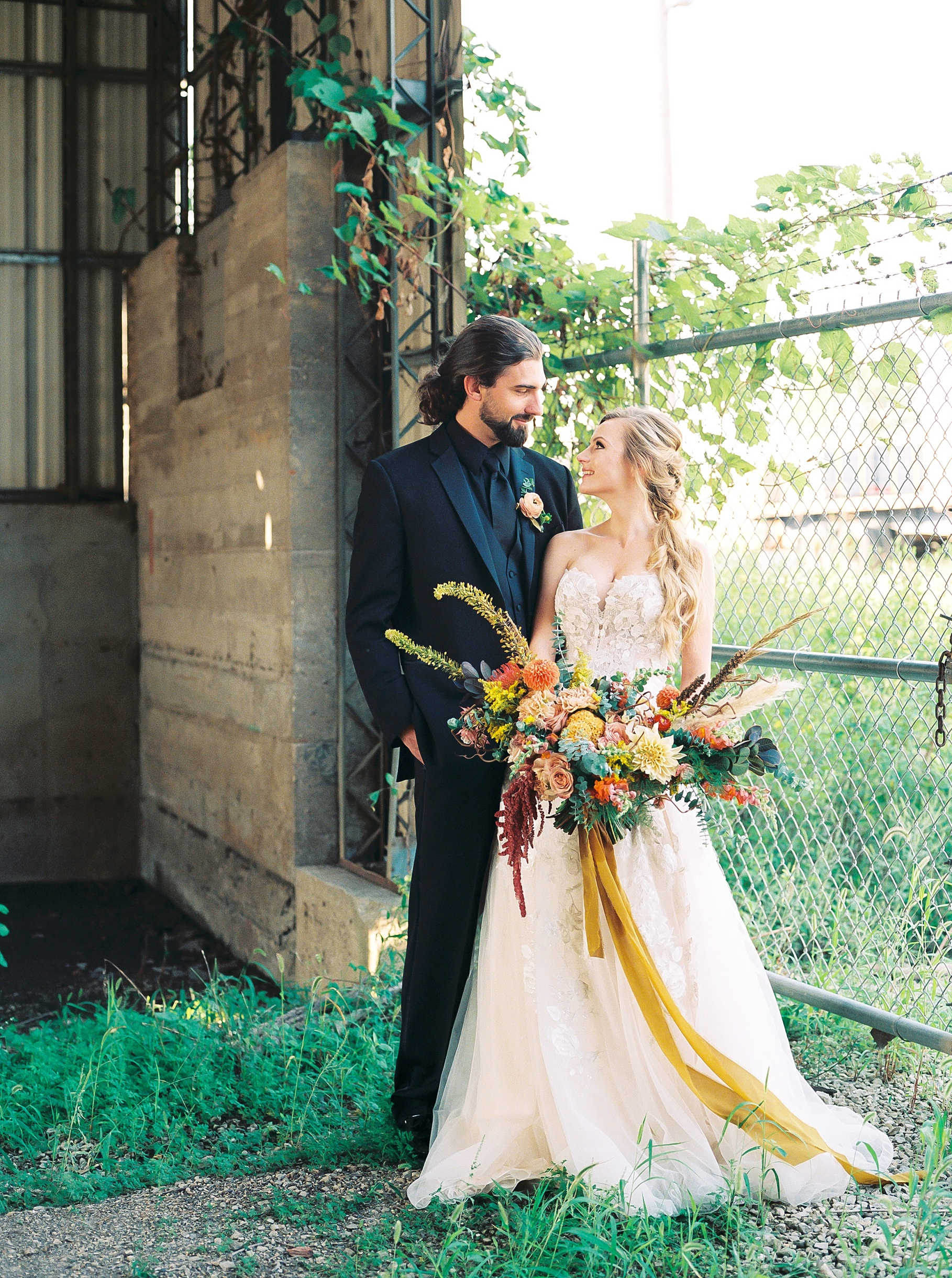 Urban Romance Wedding with Copper Accents at The Millbottom by Kelsi Kliethermes Photography Best Columbia Missouri Wedding Photographer_0050.jpg