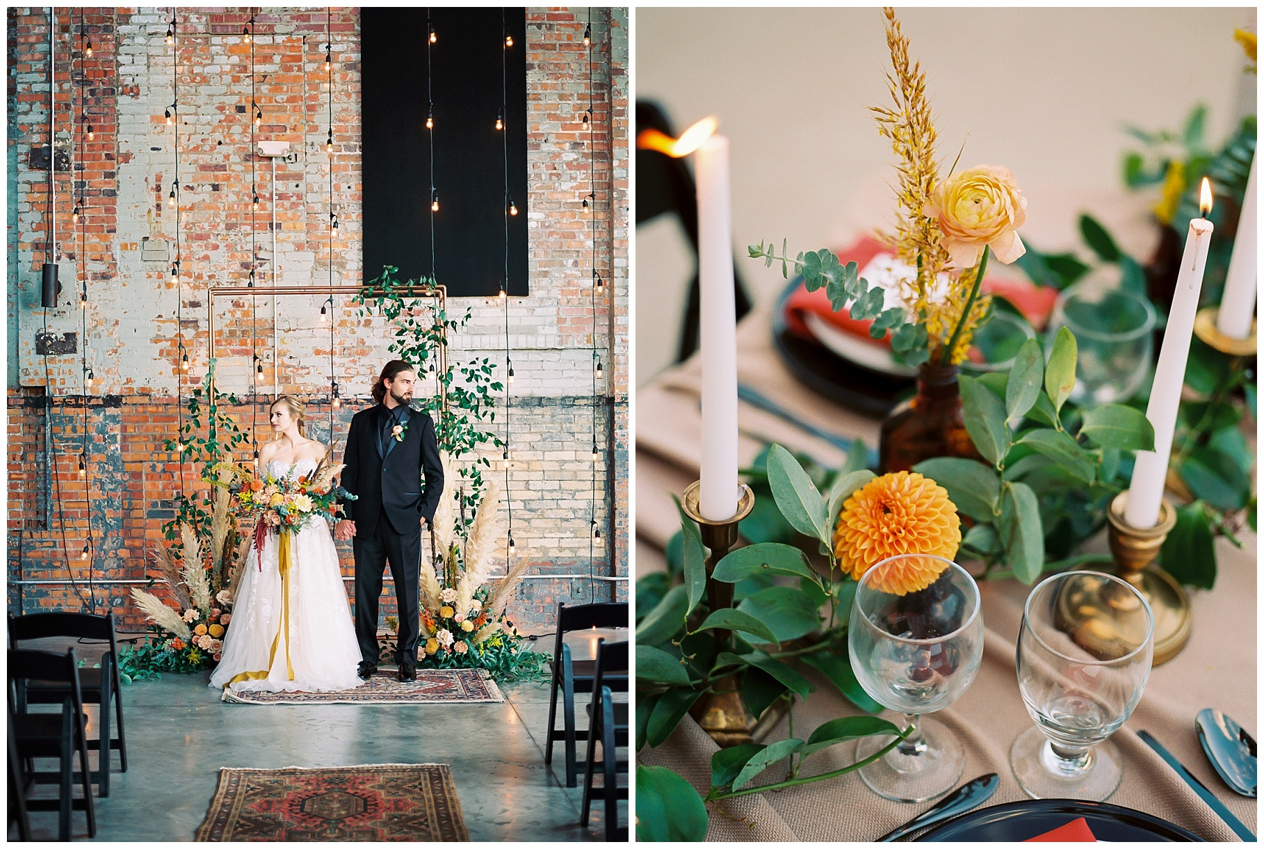 Urban Romance Wedding with Copper Accents at The Millbottom by Kelsi Kliethermes Photography Best Columbia Missouri Wedding Photographer_0063.jpg