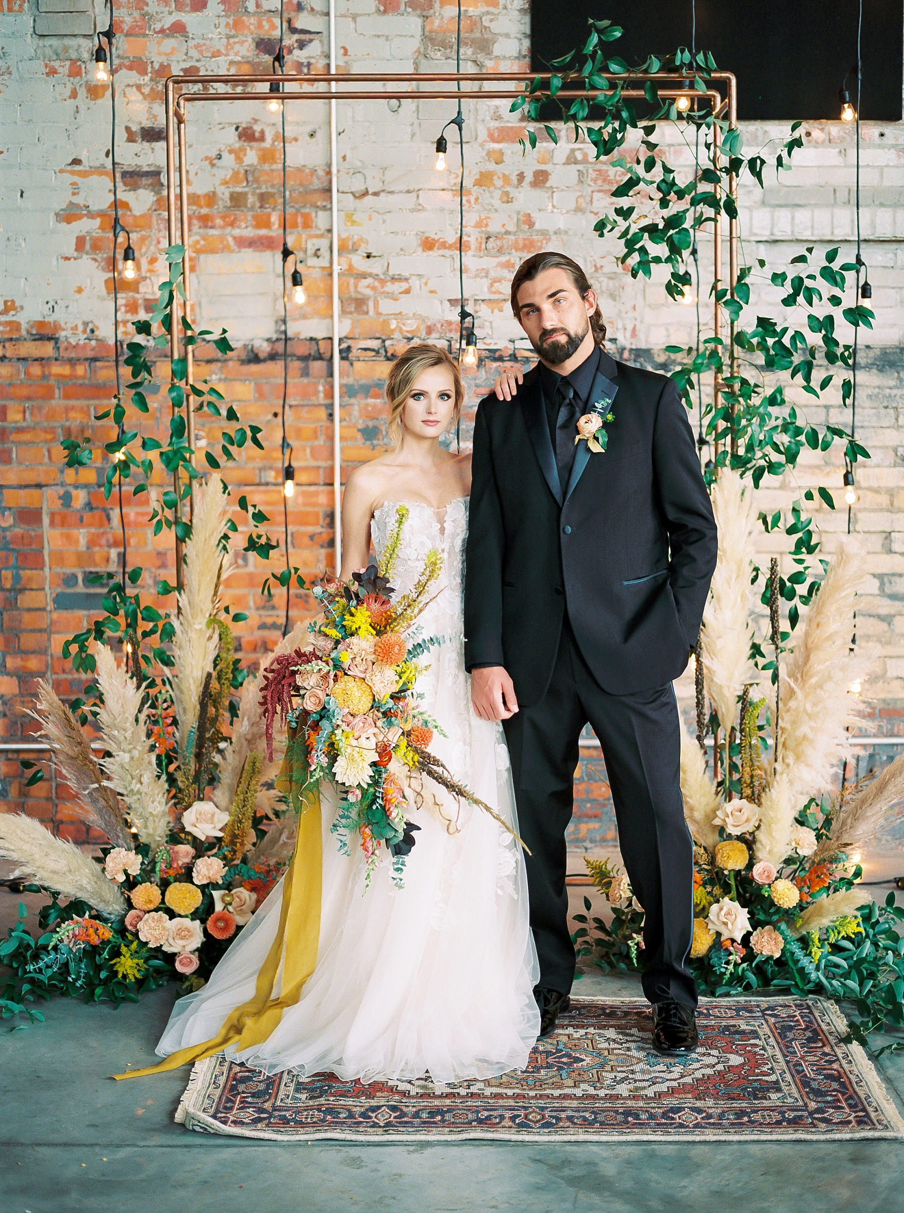 Urban Romance Wedding with Copper Accents at The Millbottom by Kelsi Kliethermes Photography Best Columbia Missouri Wedding Photographer_0066.jpg