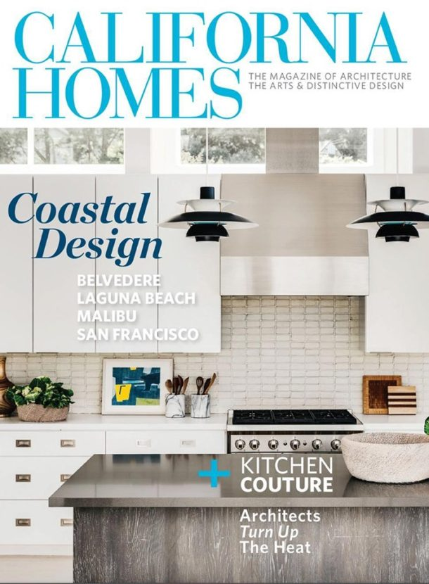 (Most Recent) California Homes Magazine, May/June 2019 Issue.   Interior by: Eche Martinez, Photo by: Christopher Stark.