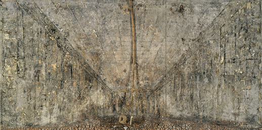 Anselm Kiefer.  die Aschenblume , 1983-97. Courtesy of the Modern Art Museum of Fort Worth.
