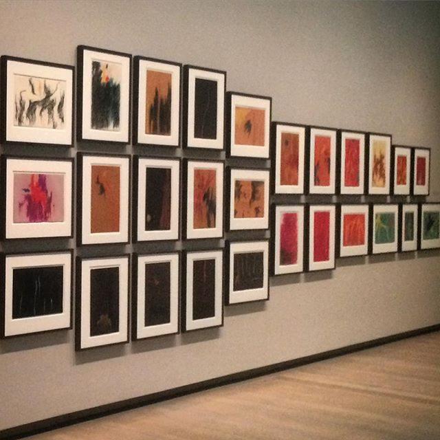 Selections from Clyfford Still: The Works on Paper.