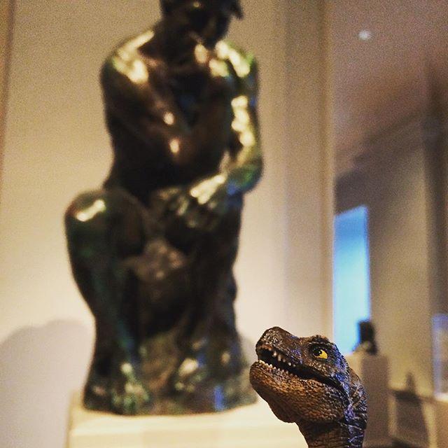 Auguste Rodin, Model of  The Thinker (Le Penseur).  Bronze. Model (1880), cast (1901).