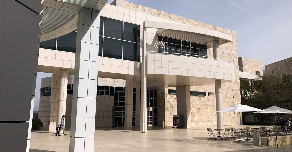 North pavilion of the Getty Center