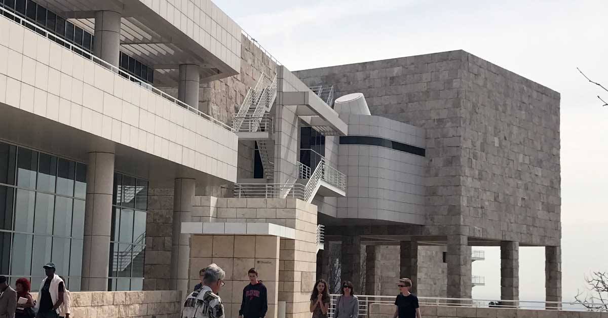 Exhibitions Pavilion at the Getty Center