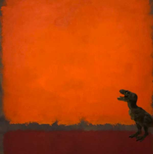 Mark Rothko,  Orange, Red and Red  (1962) at the Dallas Museum of Art