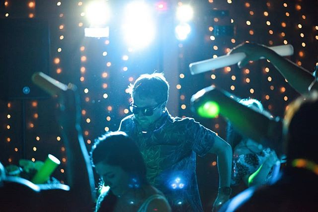 This guy? Knows how to party.  #weddingphotography #dance #dancefloor #rave #party