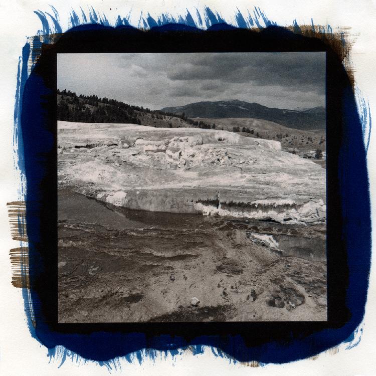 Platinum palladium over Cyanotype. ©Megan Crawford 2016