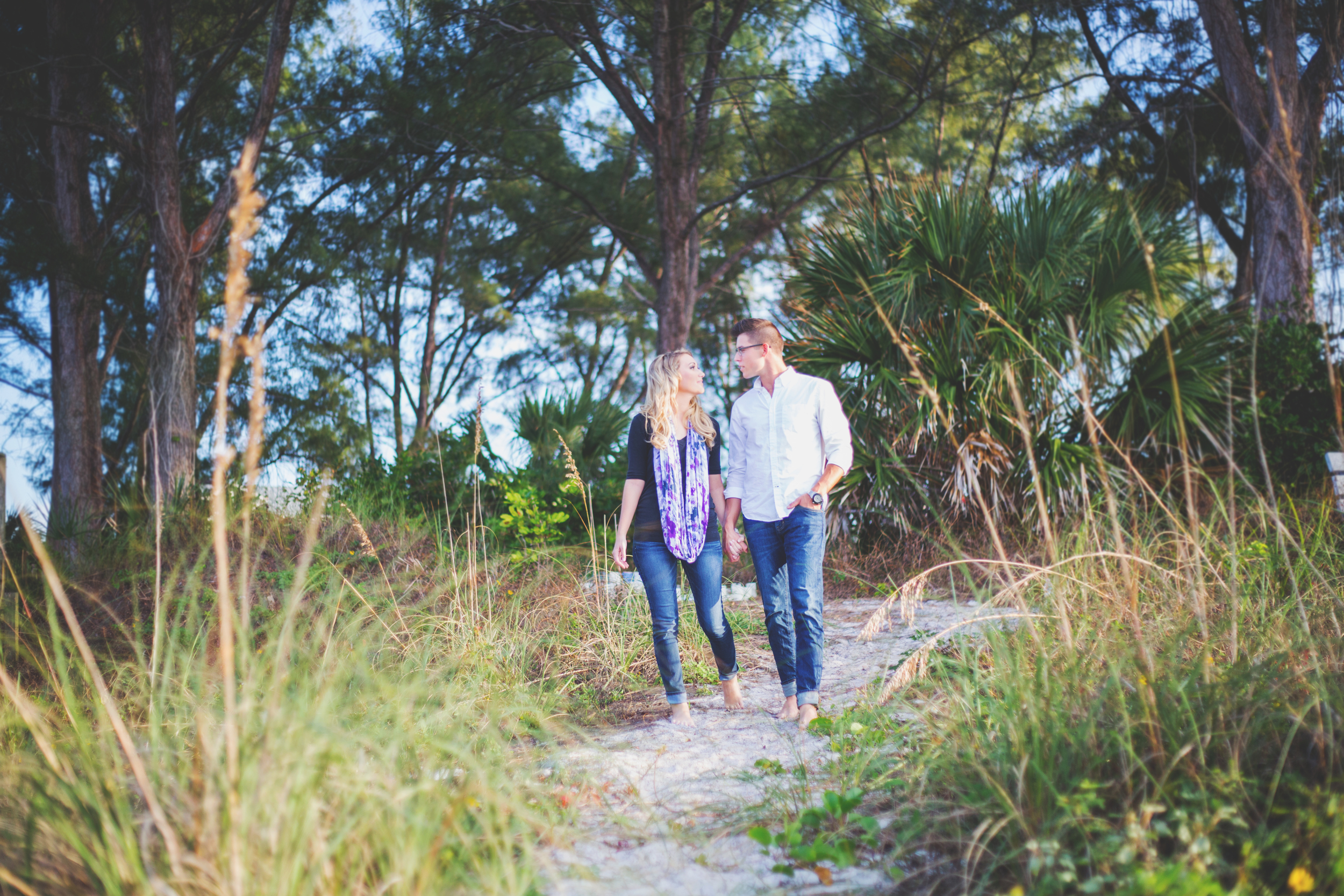 Emily + Trent - Sarasota Engagement and Wedding Photography - Sarasota Engagement and Wedding Photographer - Emily & Co Photography - Cozy Beach Engagement