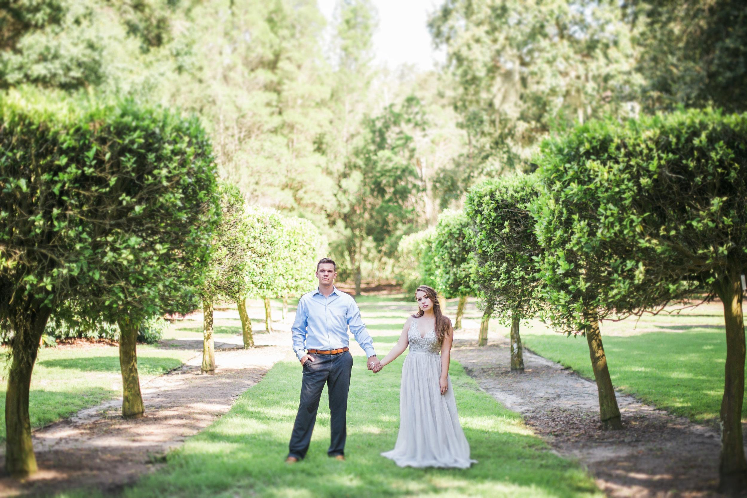 Scarlett + Derek - Bok Tower Gardens Wedding Photographer - Bok Tower Gardens Engagement Session - Preview Photos - Emily & Co. Photography (54).jpg