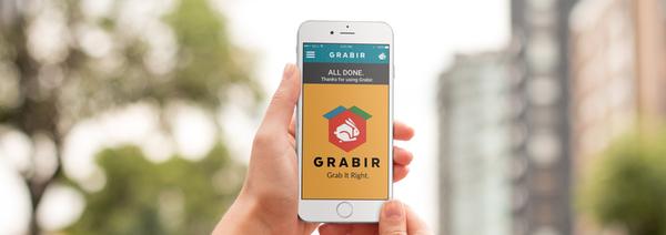 Grabir: User Interface & Visual Design   DESIGNING ONLINE DIGITAL TOOLS TO PROMOTE OFFLINE COMMUNITY ENGAGEMENT AMONG THE MILLENNIAL GENERATION